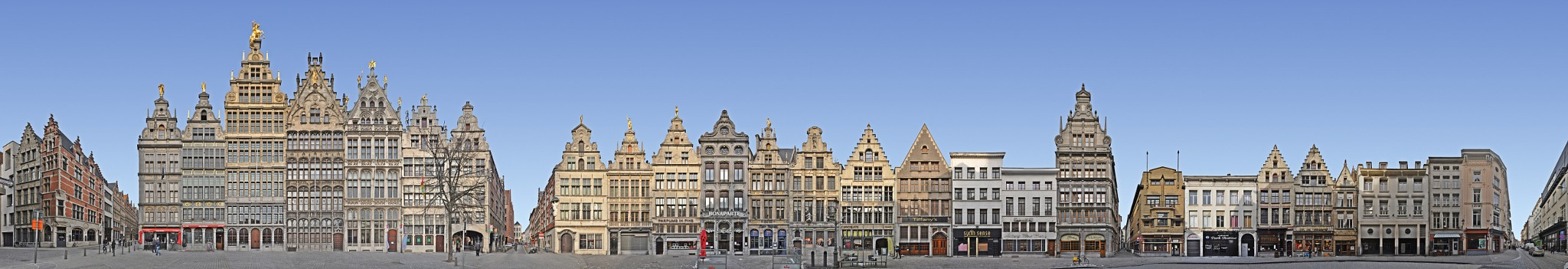 Antwerp   Grote Markt / Kaasrui Panorama by edition cityscape