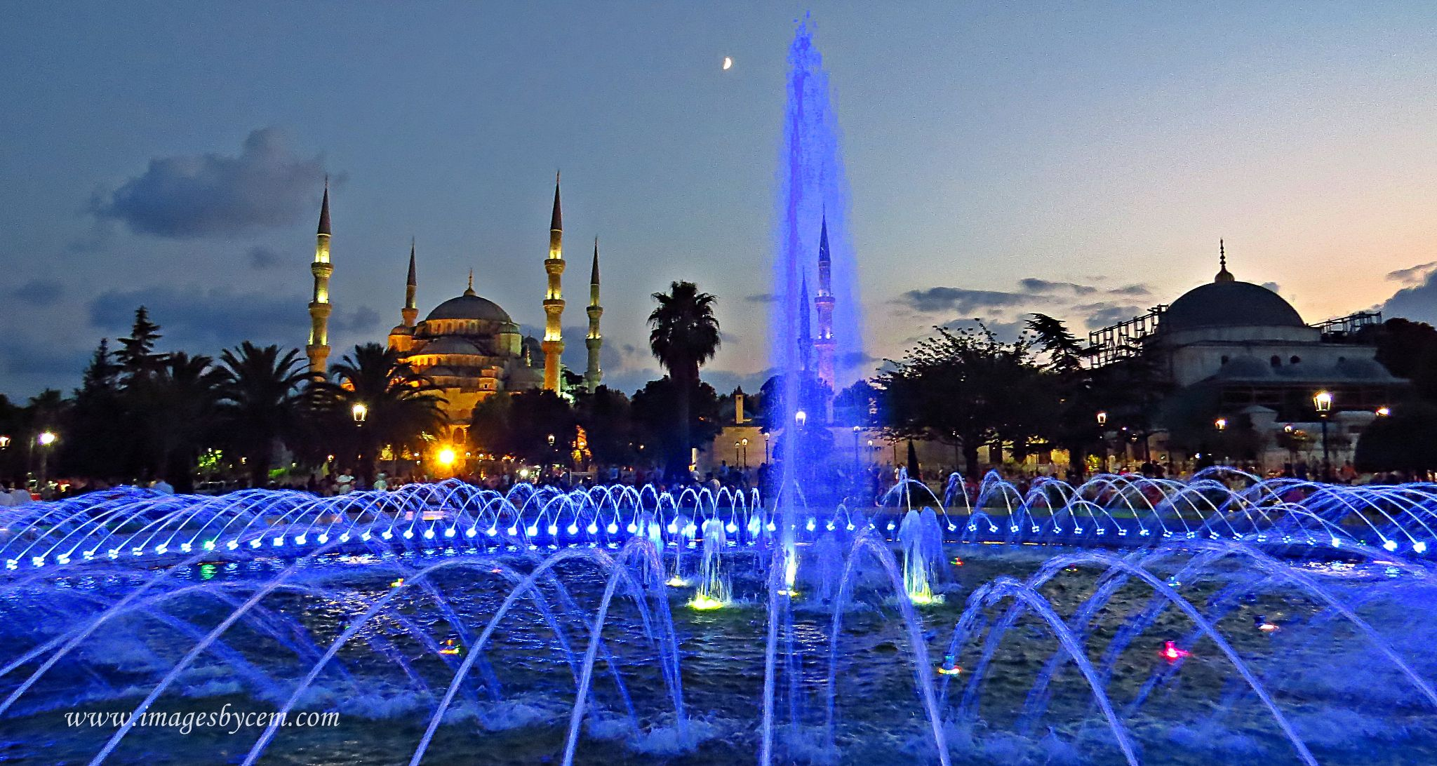 With a different eye Sultanahmet Mosque  by Cem Berkay YAKAL