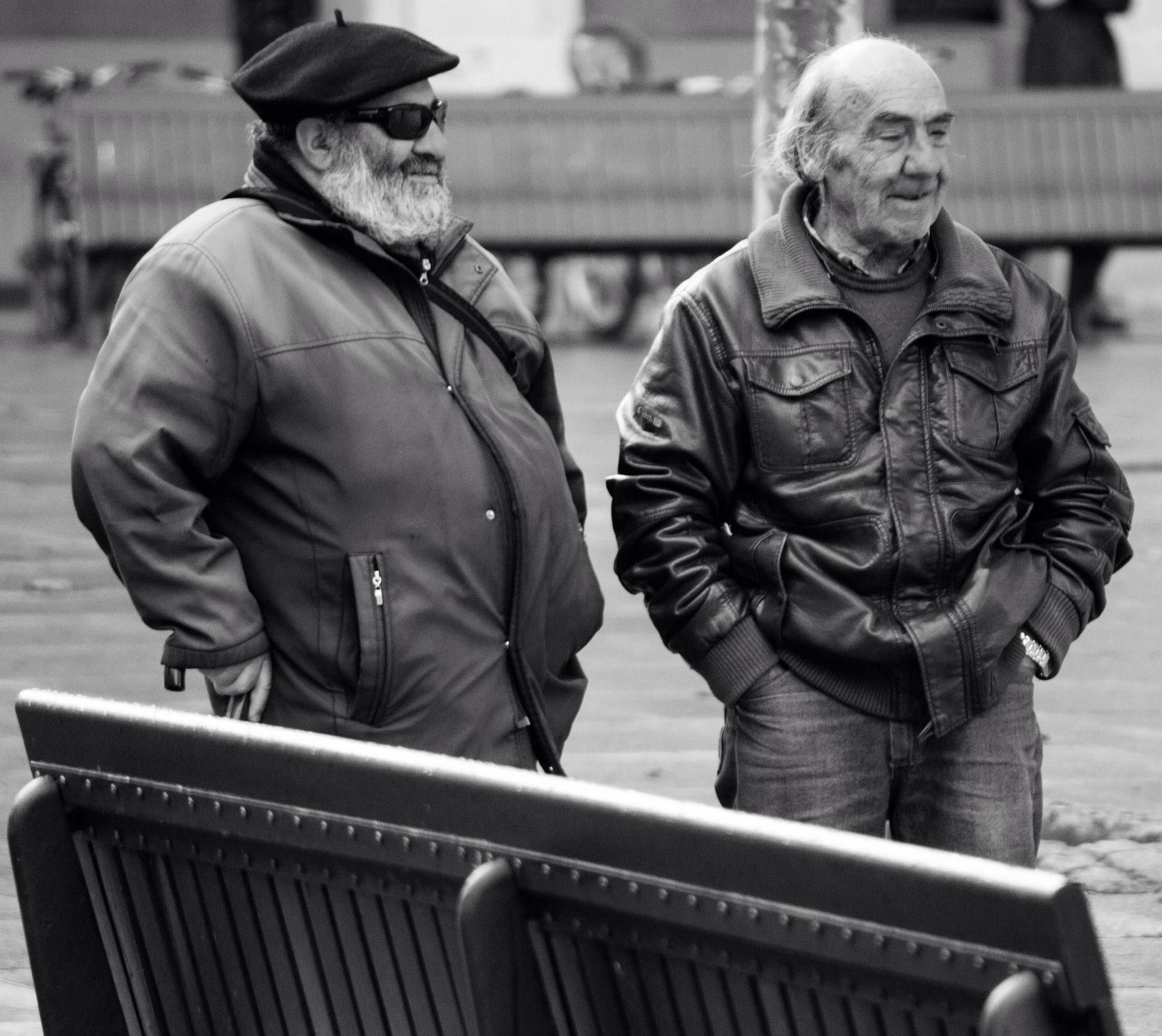Old fellas by Lee Russell Wilkes
