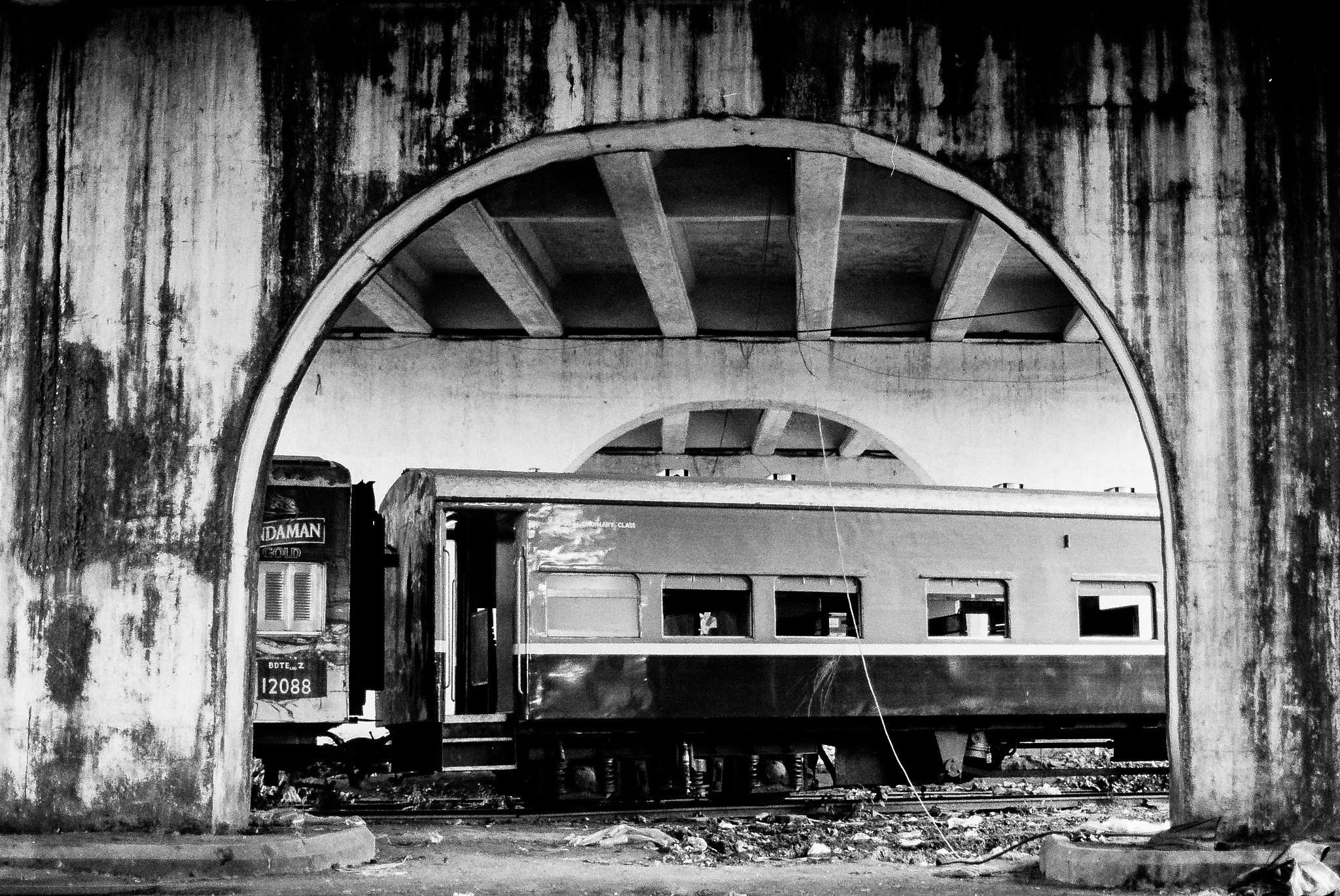 Yangon Station, 2016 by Lee Russell Wilkes