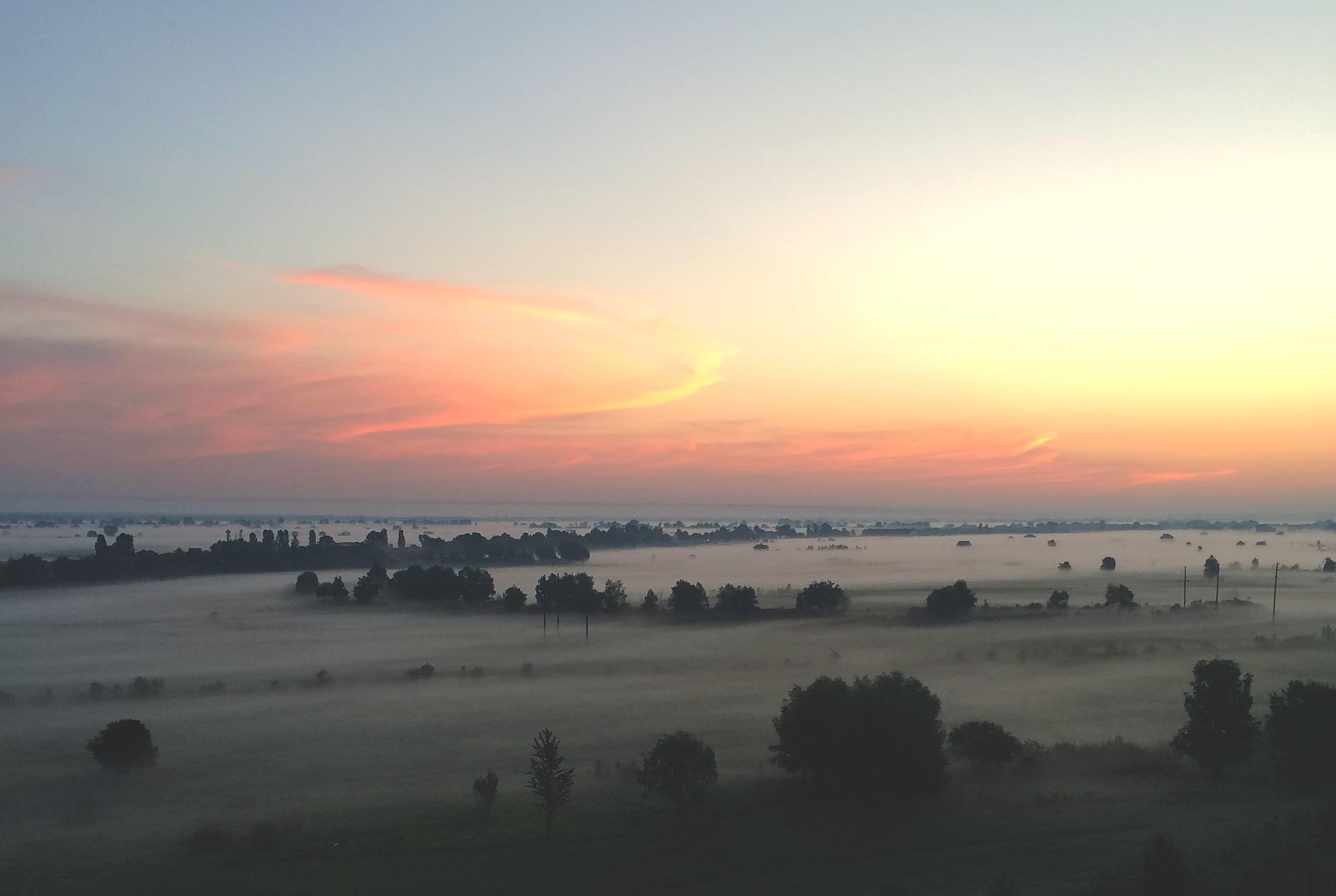 That fog by Yauheni Loktseu