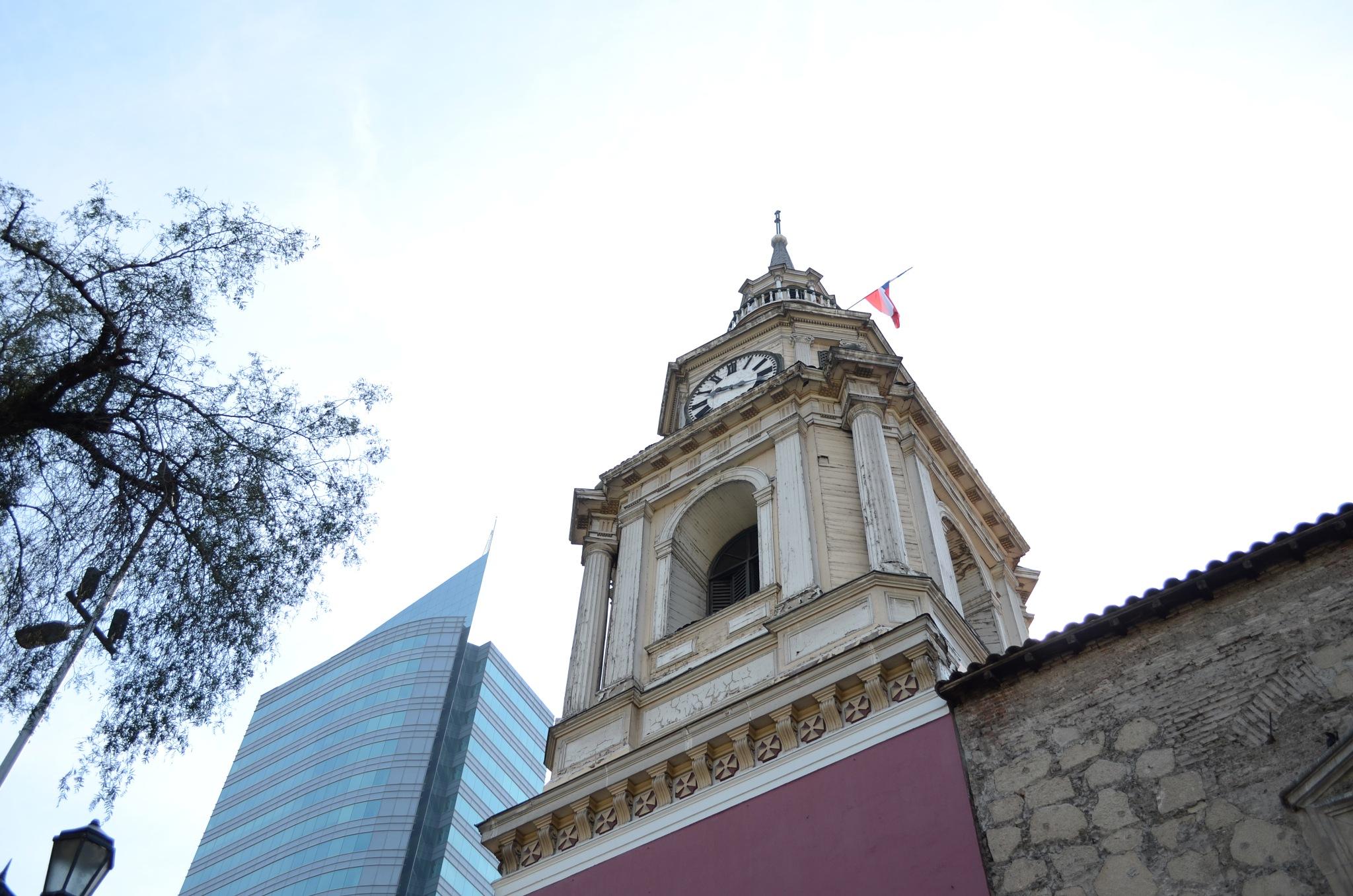 Church of san francisco, santiago de chile july 2016 by Aossandon