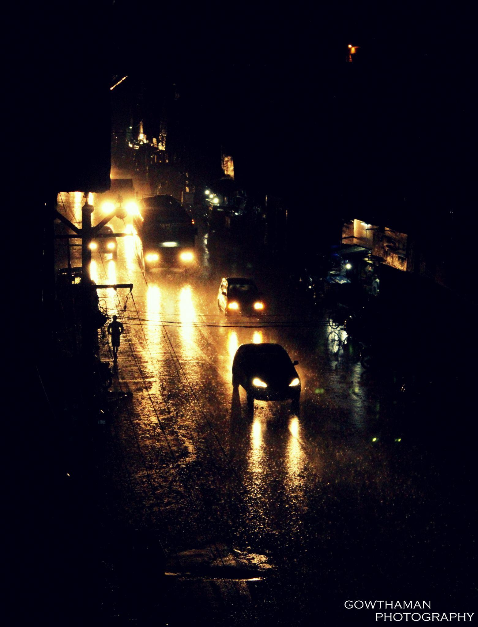 rain photography  by Gowthaman Sivakumar