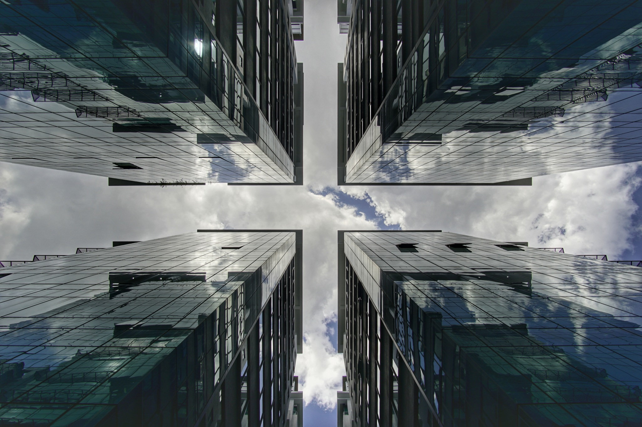 The 4 Towers by Mohd Arrazi Rosdi