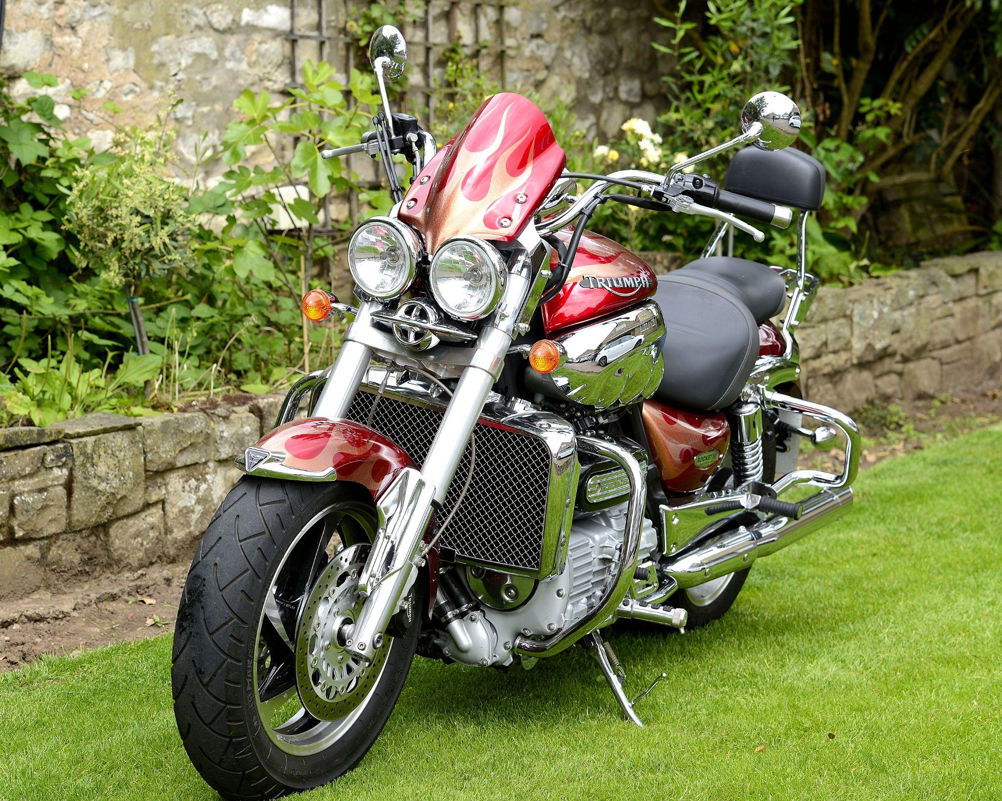 Triumph Motorbike by goodadvice.com