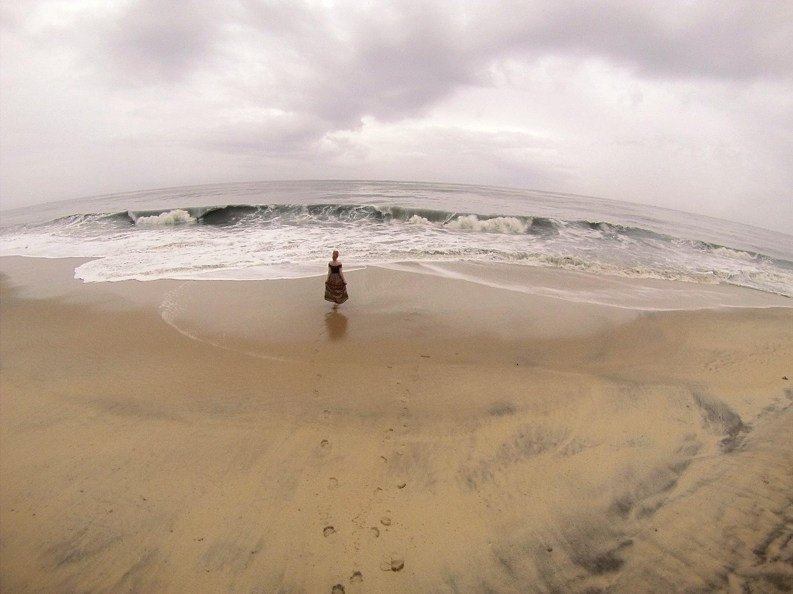 Talk of the waves by Sanna