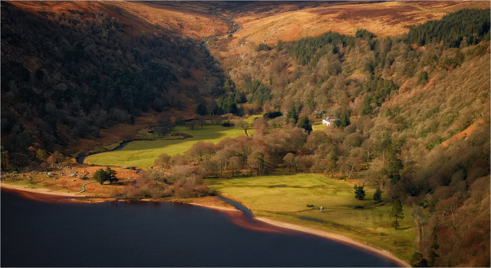 ...Luggala Valley... by Kanstantsin Markevich