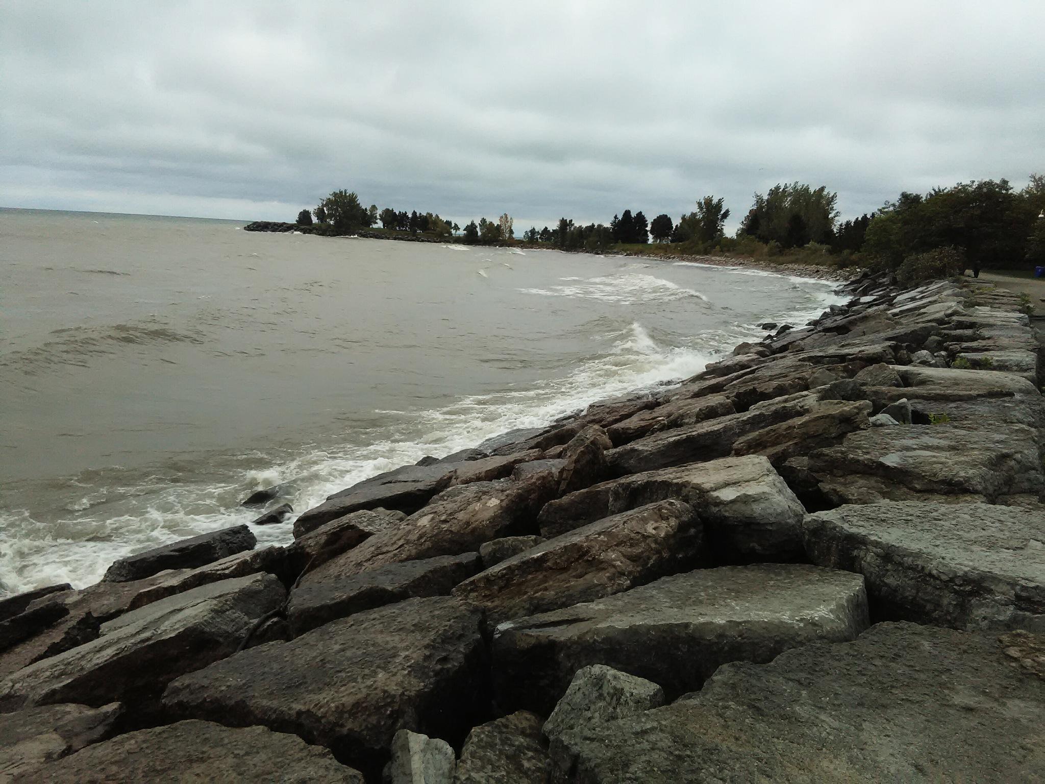 Lake Ontario, Scarborough Bluffs by smartin3380