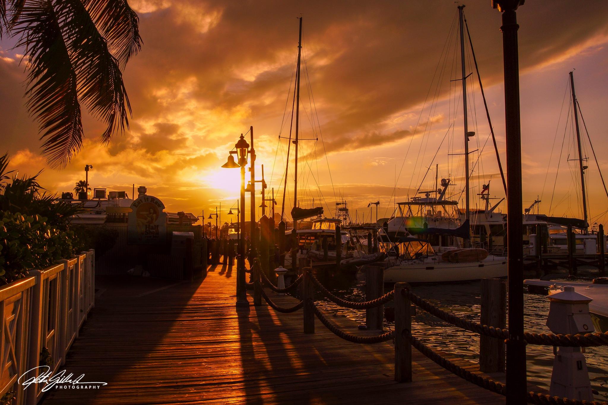 Sunset on Board walk by Ritva Sillanmäki  Photography
