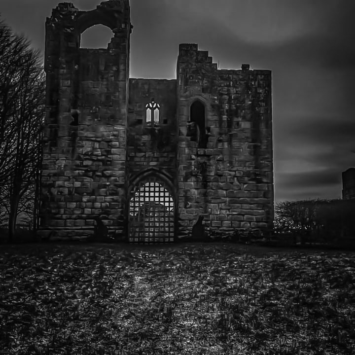 Norham Castle Ruin (Northumberland)  by Stevie