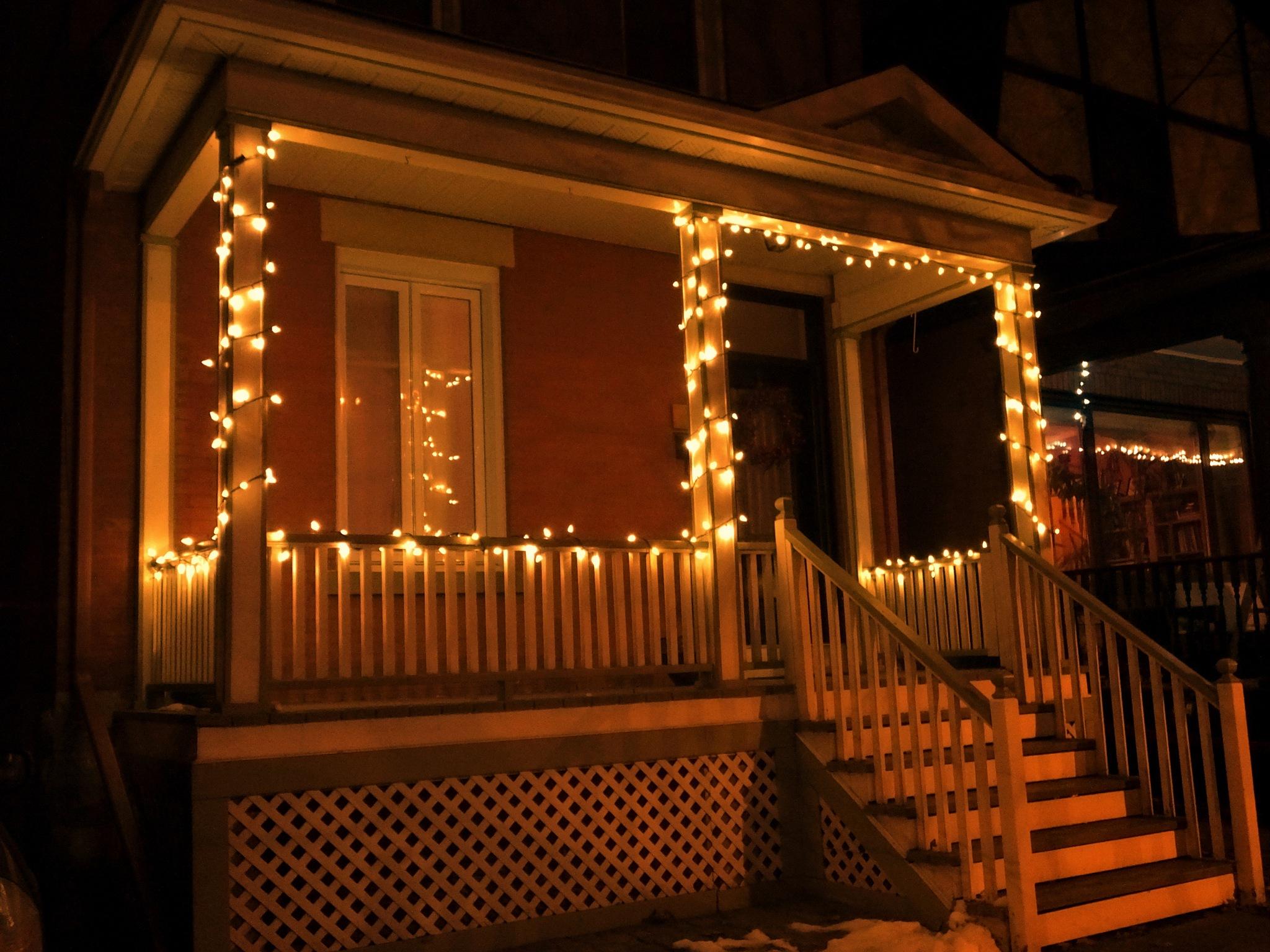 Christmas Lights by Dino DiLabio