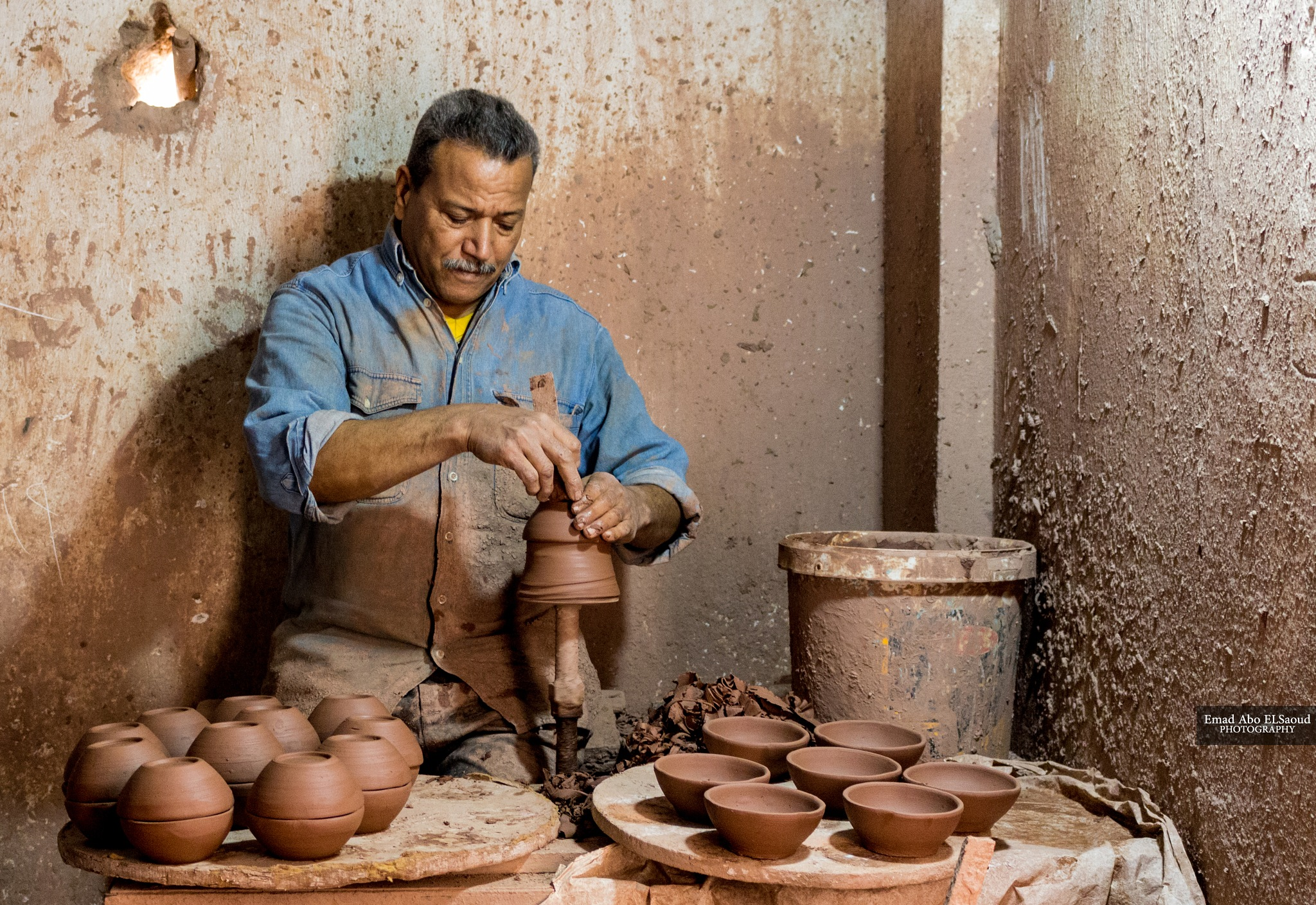 Pottery Worker by EmadAboELSaoud203