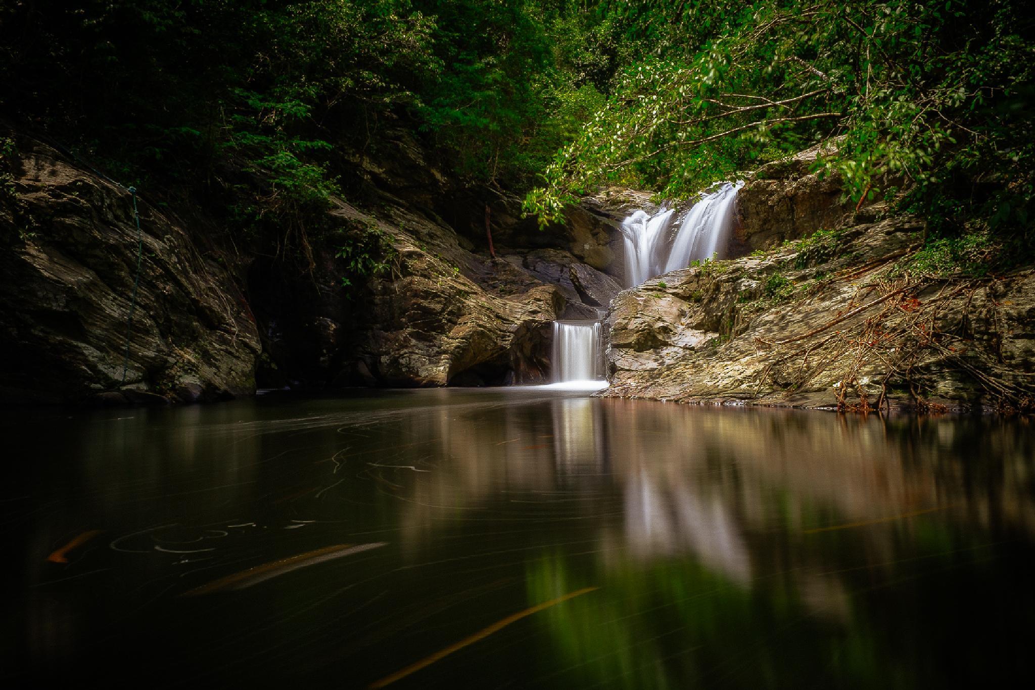 Binduyan Falls by Jim Jimenez