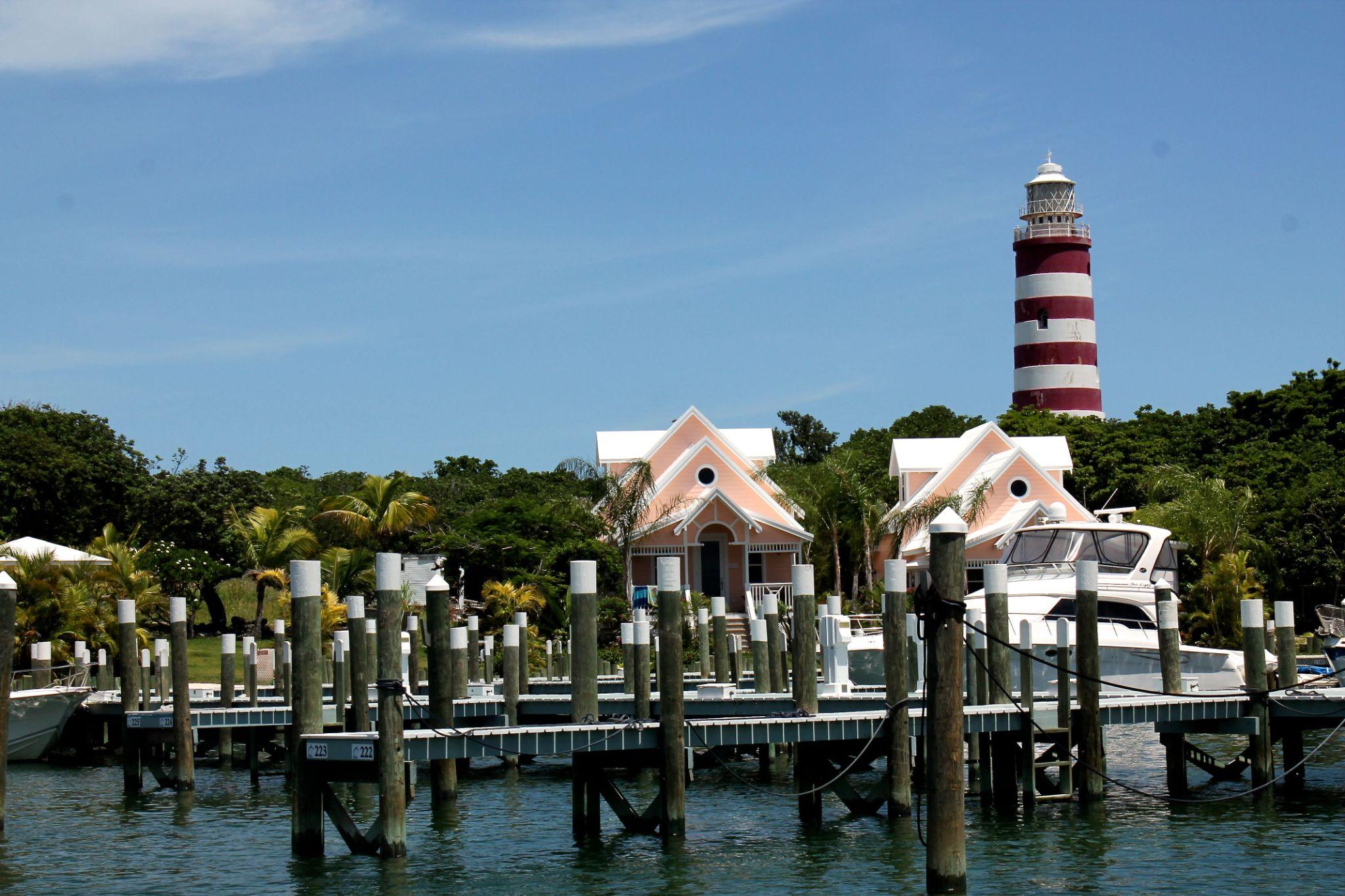 Hope Town Light house - Bahamas by Sandra Dubout