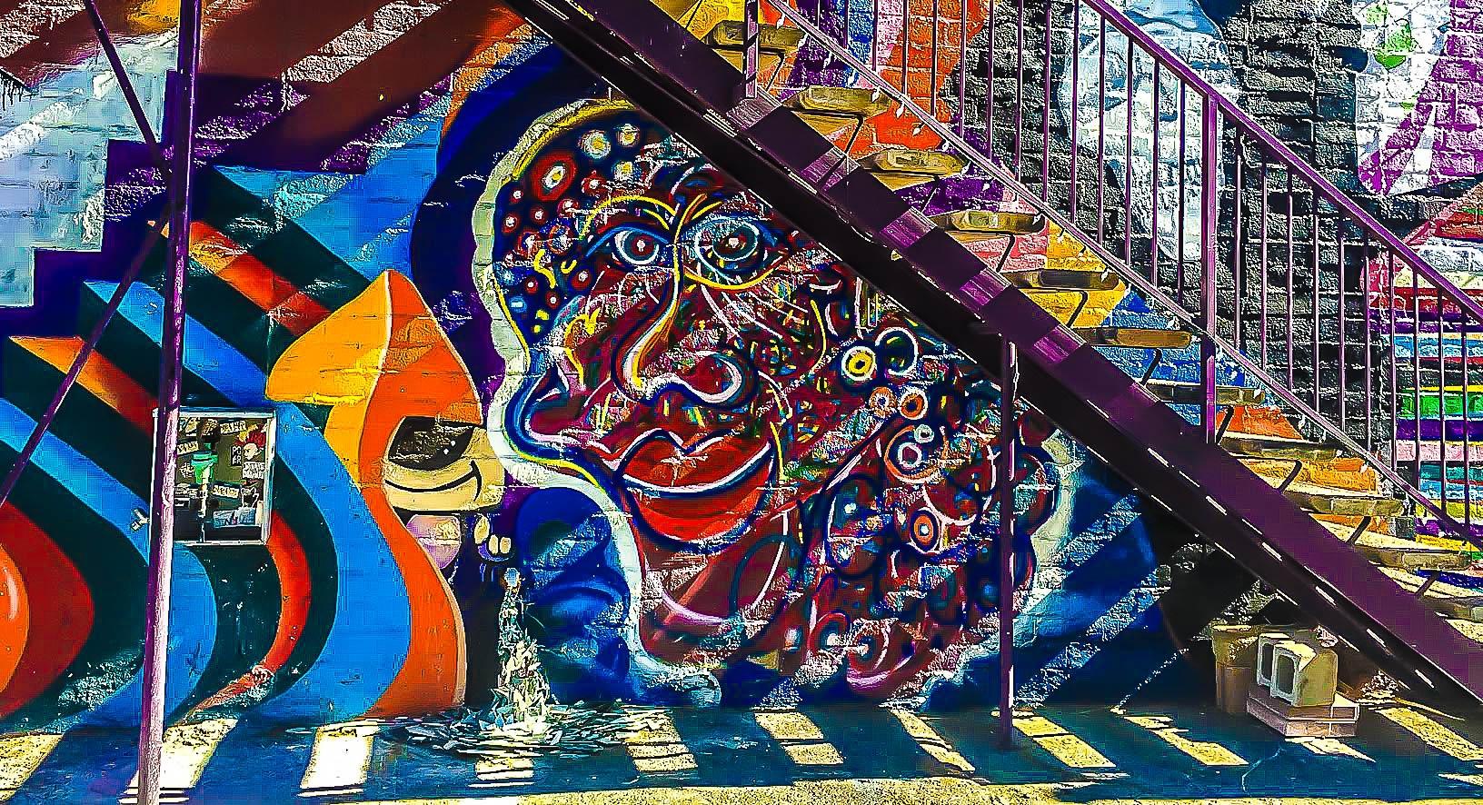 Street Art  by Theoddportrait