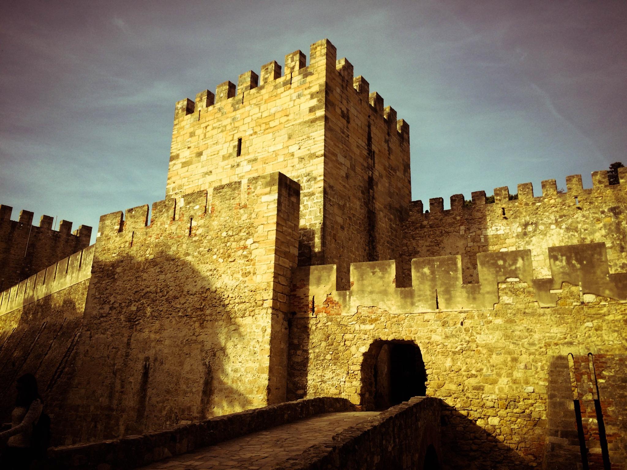 Saint George Castle - Lisbon, Portugal by Leonardo Perin Vichi