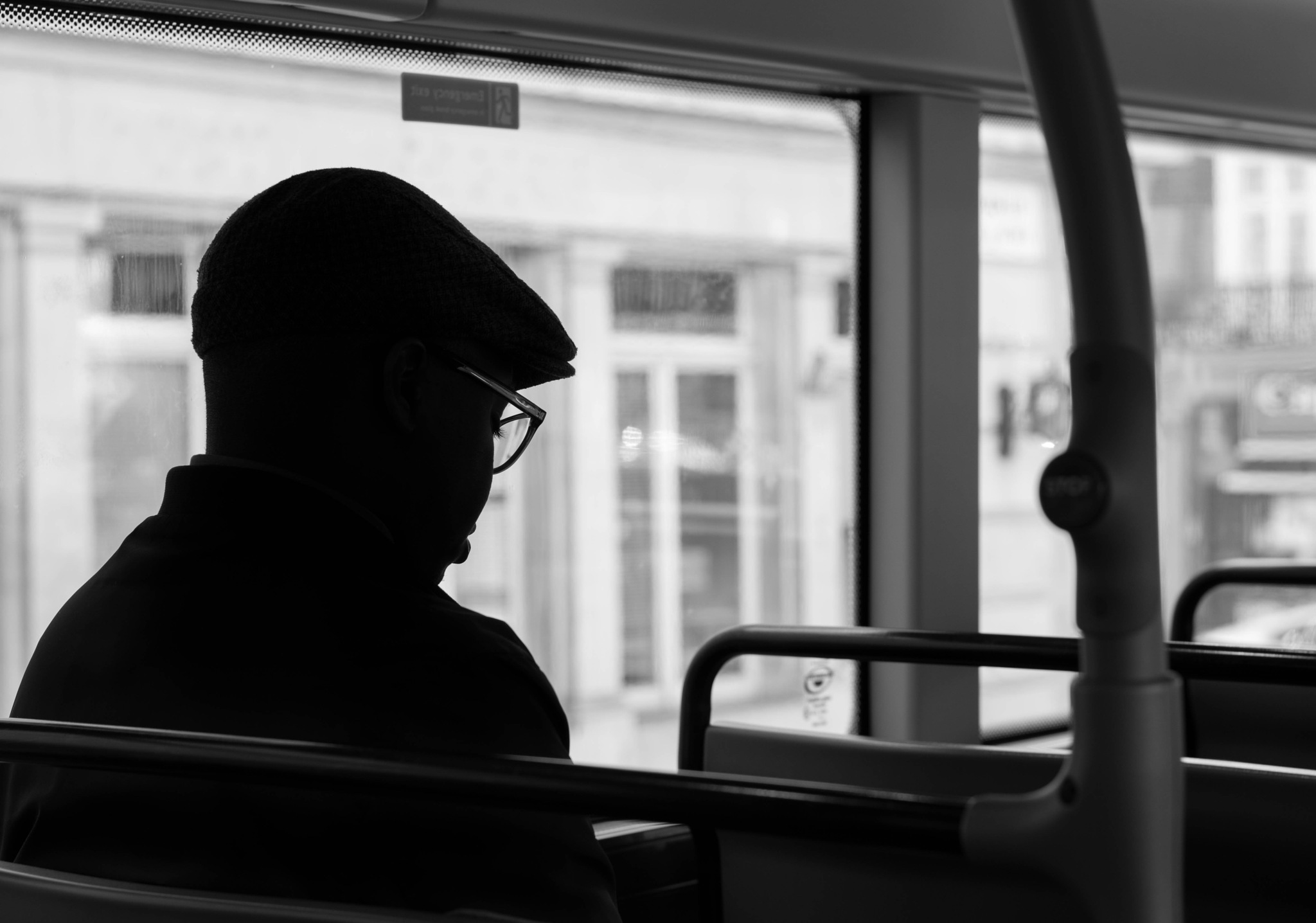 On the bus by Tamara
