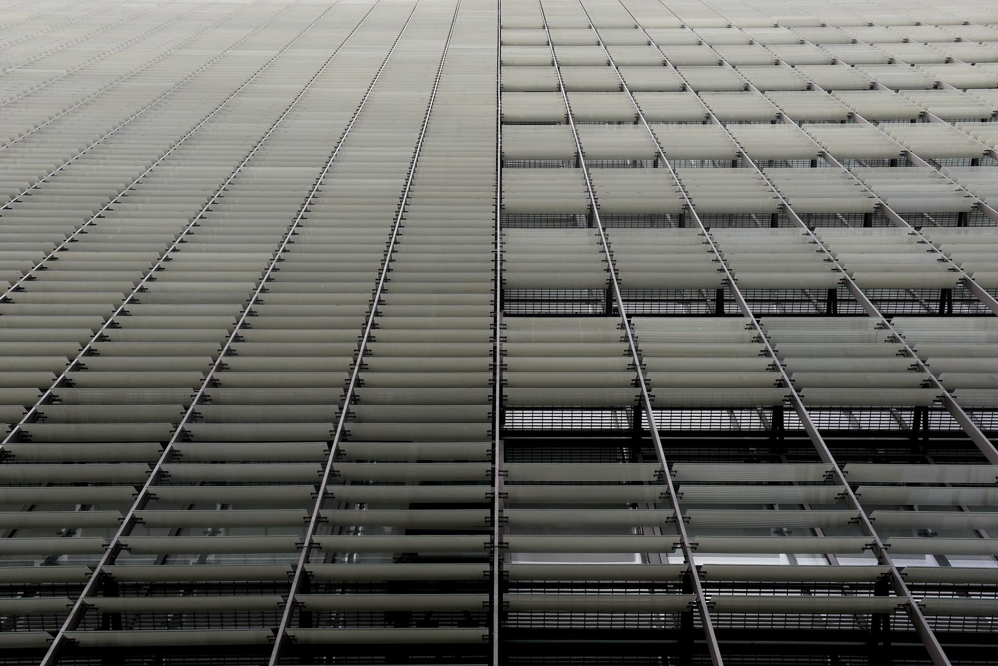 Symmetrical lines #2 by Ido Shahar