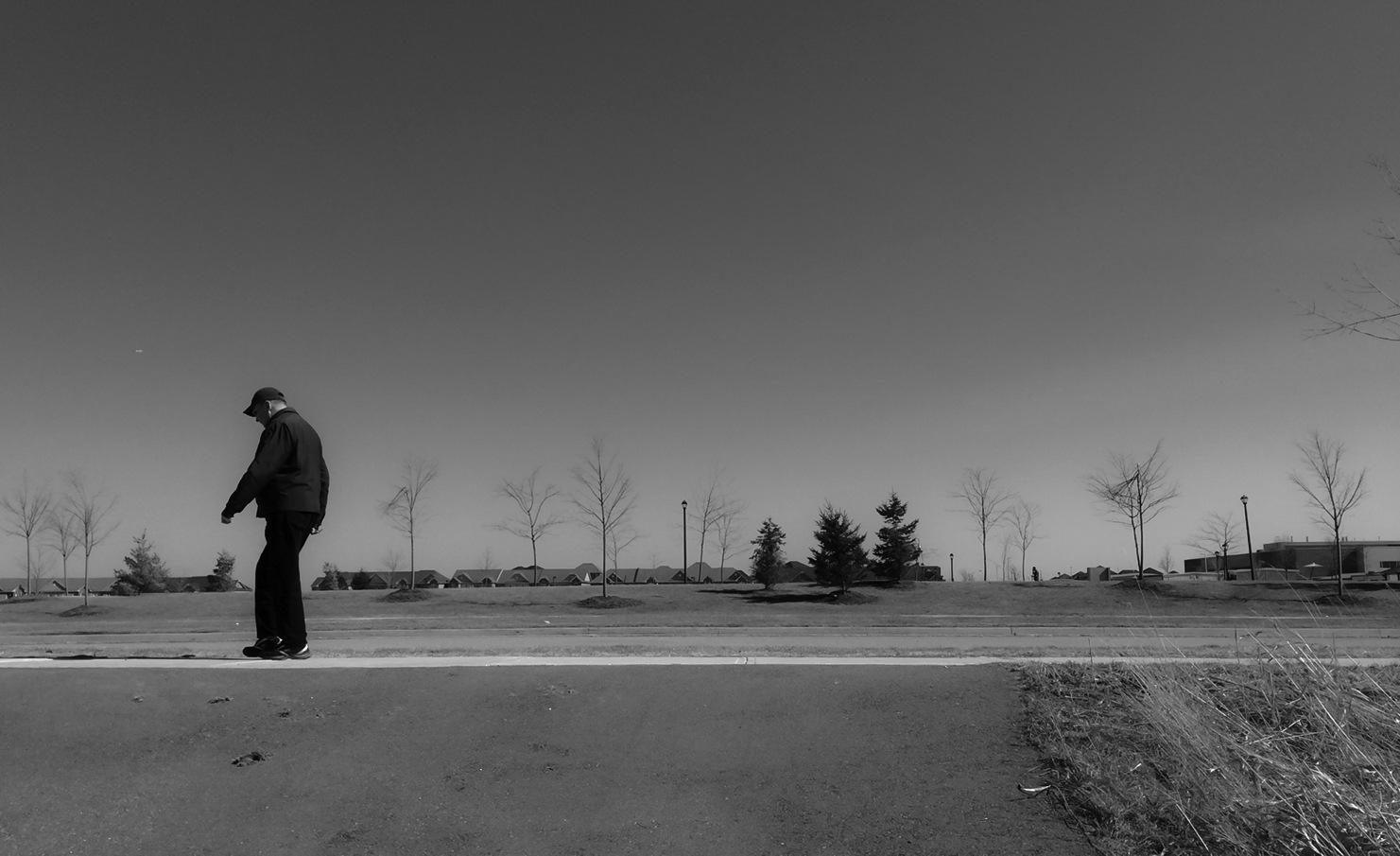 Moon Walking by Graham McArthur