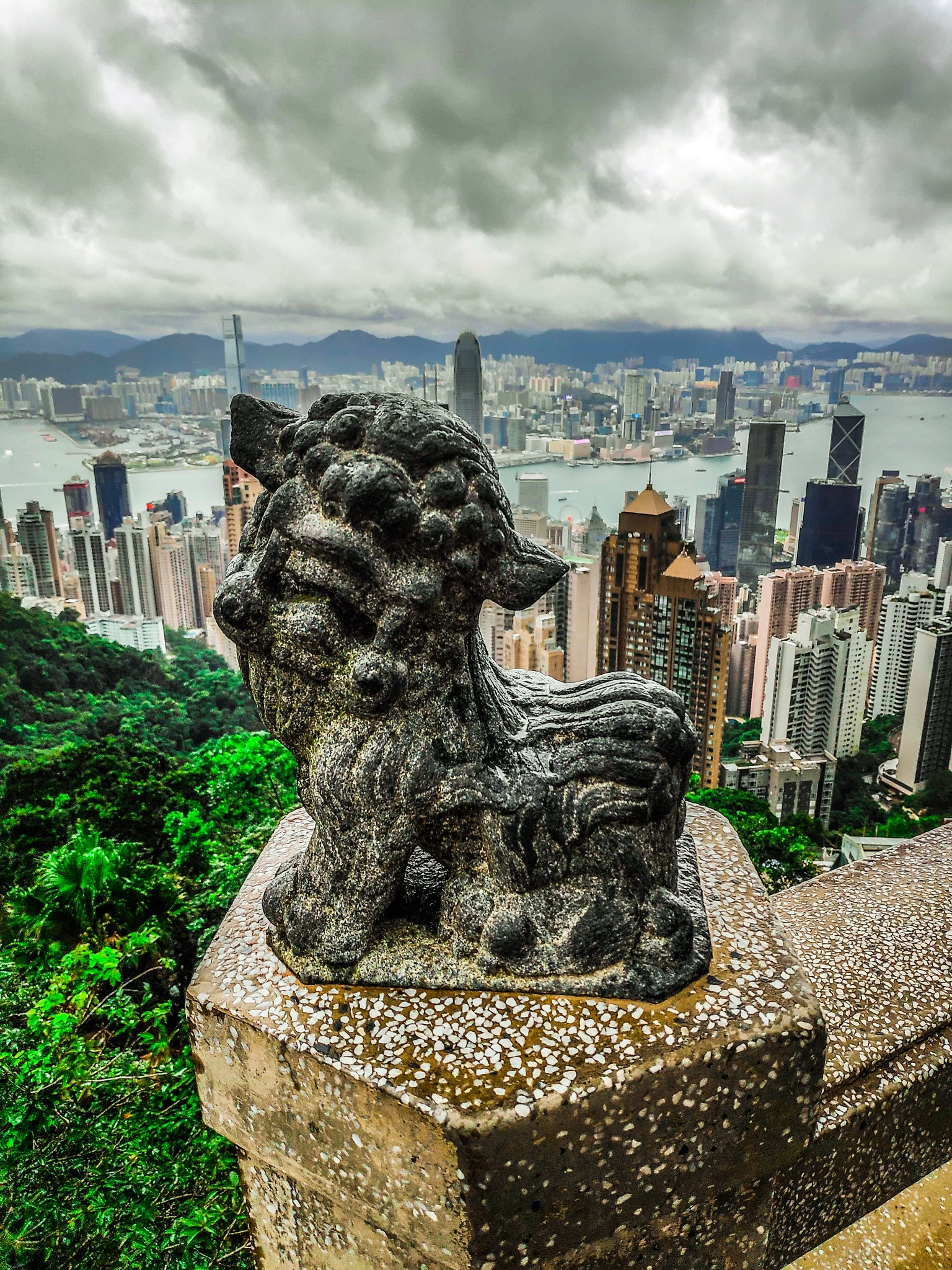 The Peak - Hong Kong by John Franco