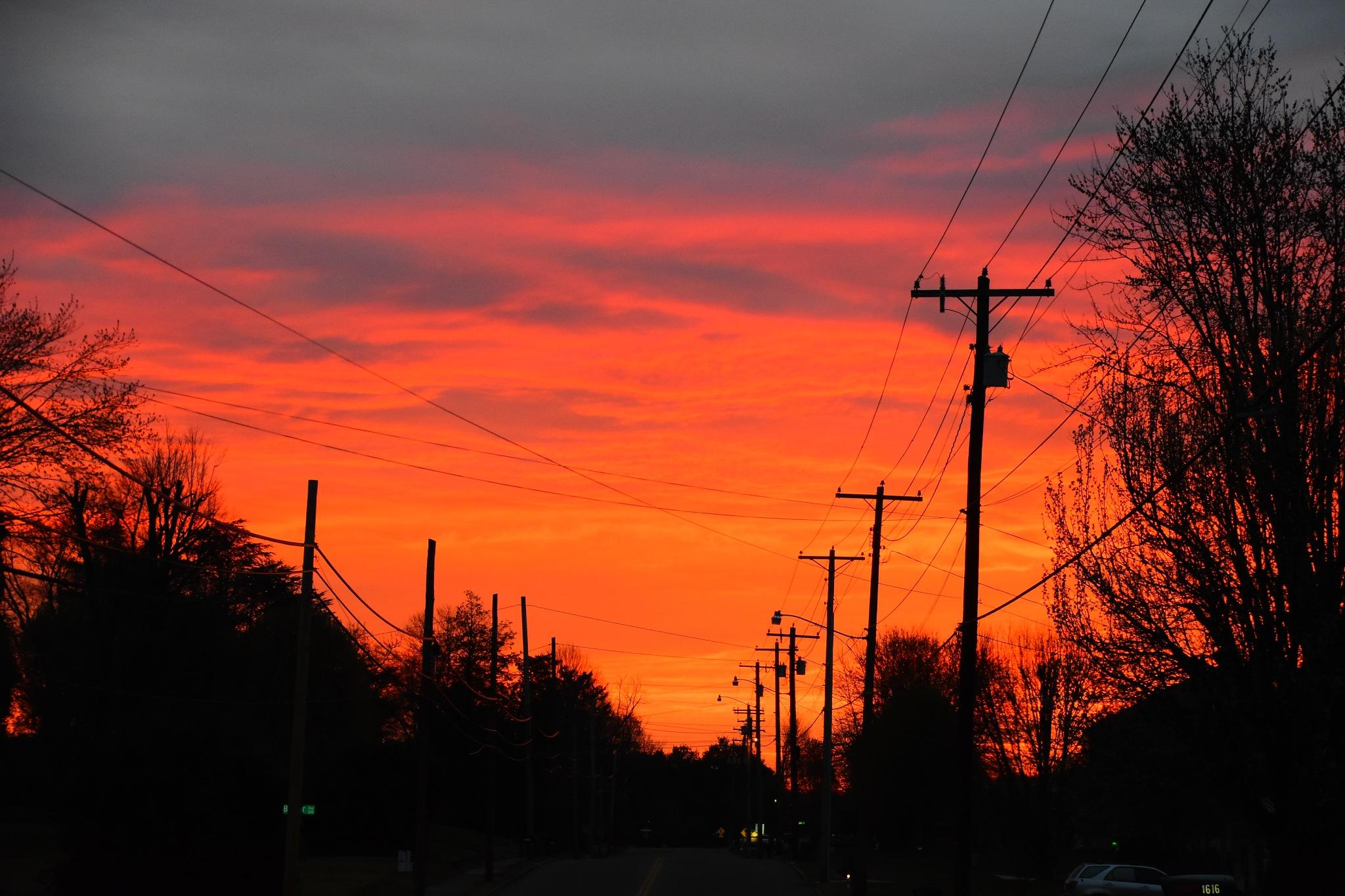 Sunrise 2 March 17 by Greg Knott