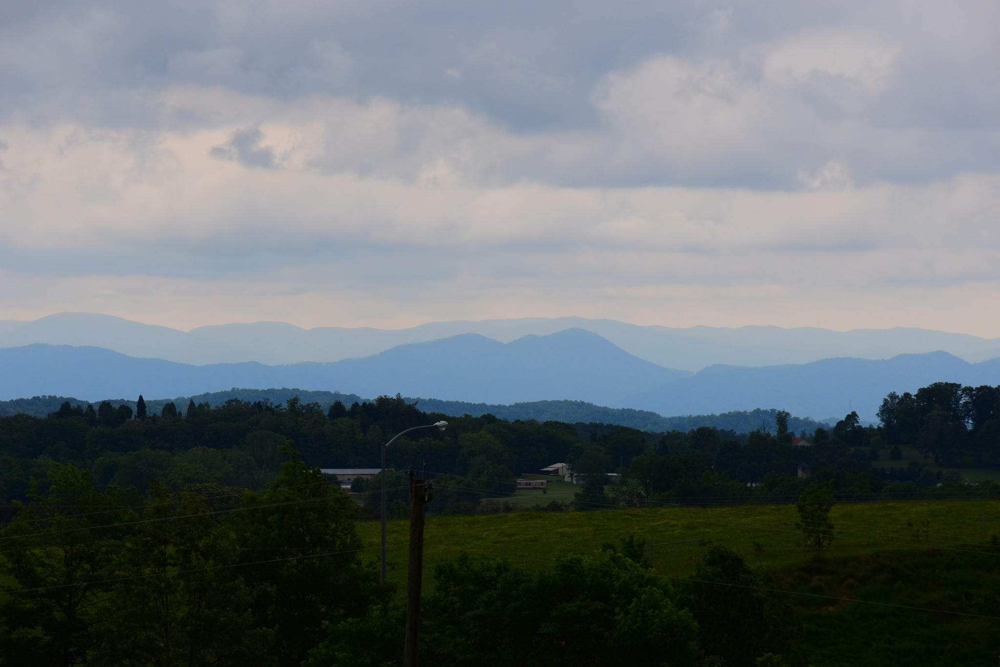 Distant Mountains by Greg Knott