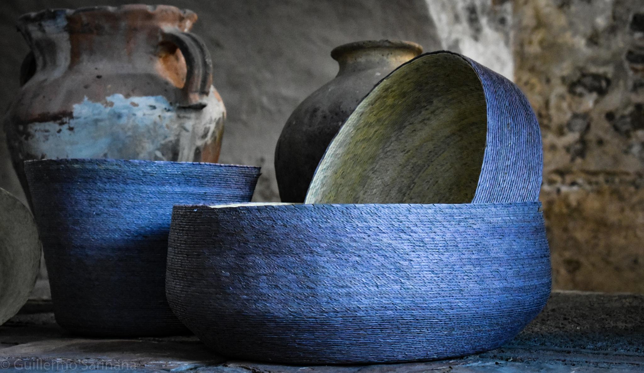 Hand Made Baskets  @ Makaua.com.mx by Guillermo Sariñana Siller