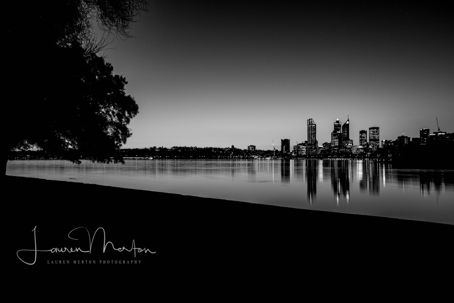 night city in bnw by Laurenmerton