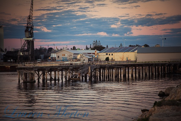 fremantle harbour by Laurenmerton