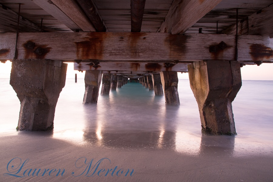 Under the bridge  by Laurenmerton