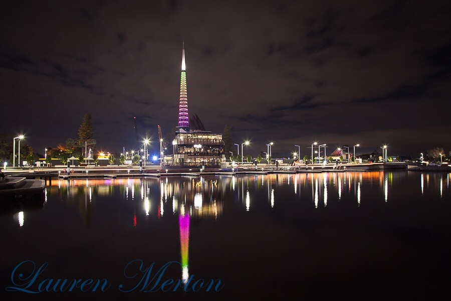Perth city by night by Laurenmerton