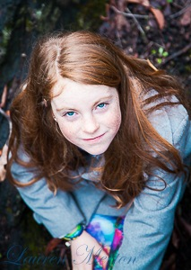 red hair blue eyes by Laurenmerton