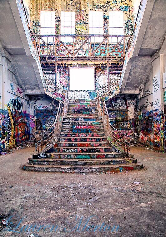 Stairway to colour by Laurenmerton