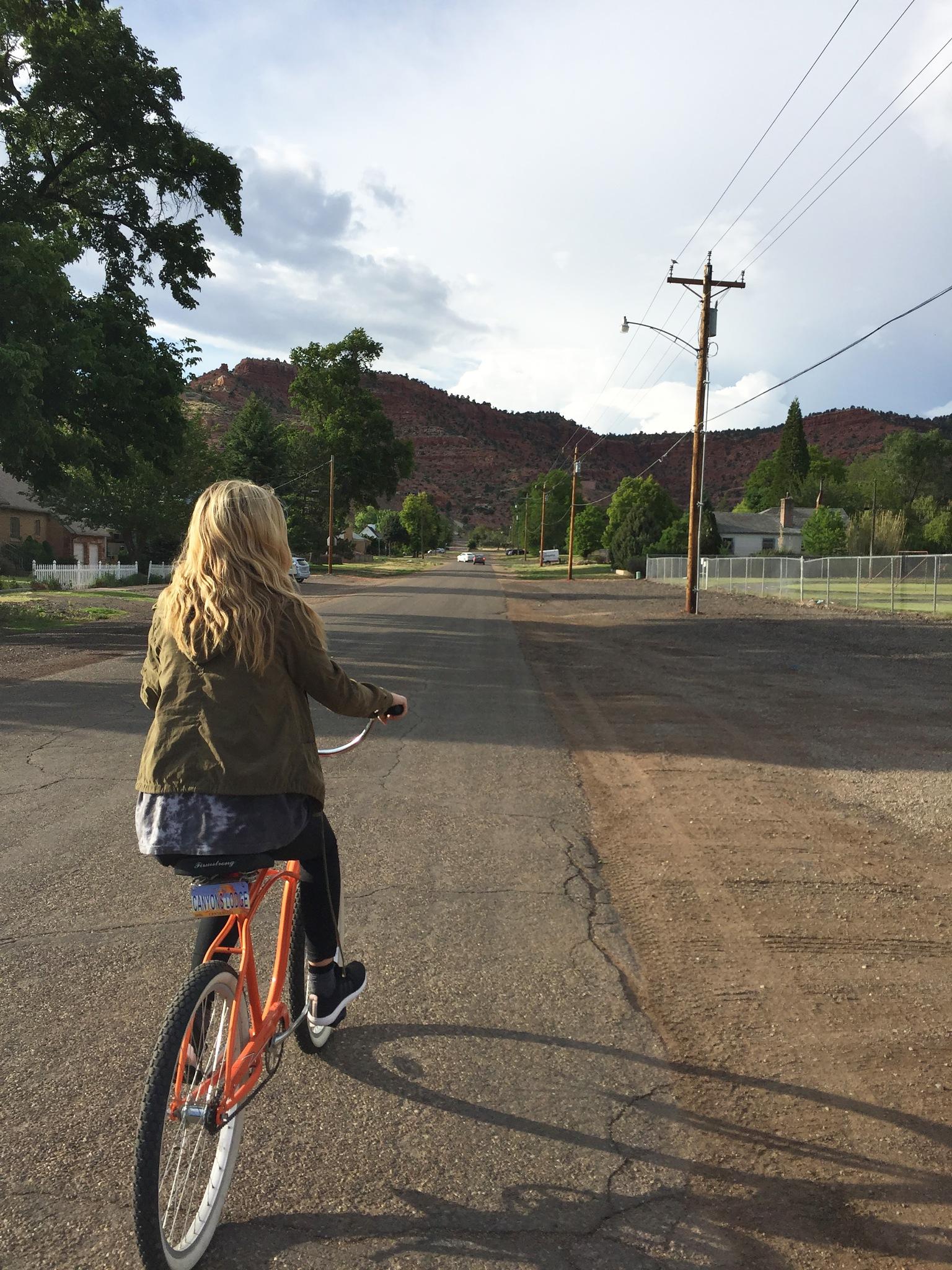 Bike Riding in Utah by lucidlexxy