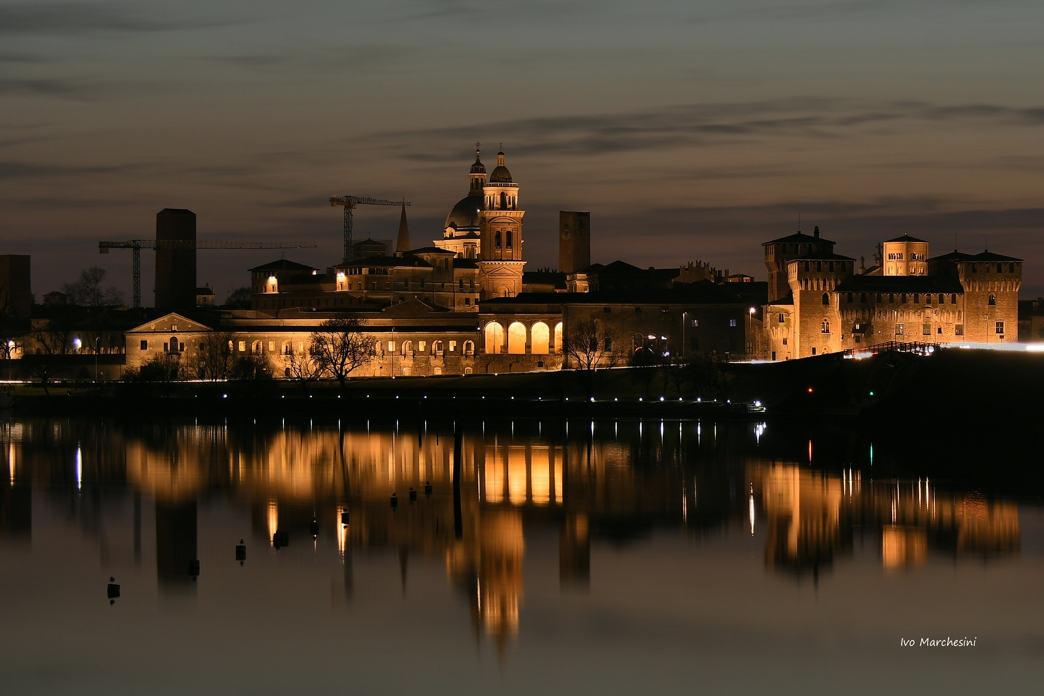 skyline...Mantova by Ivo Mar Marchesini