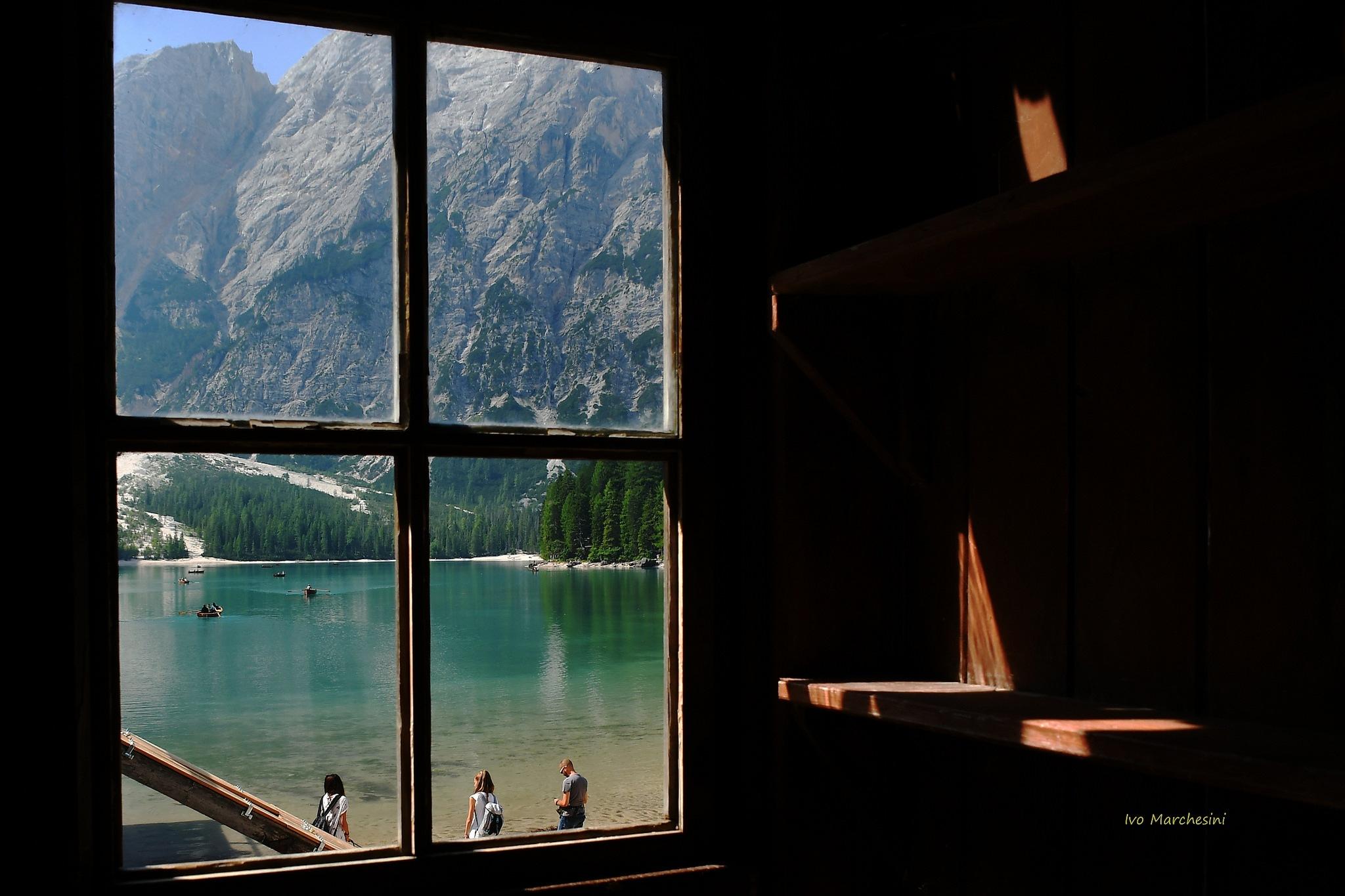 scorcio sul Lago... Braies by Ivo Mar Marchesini