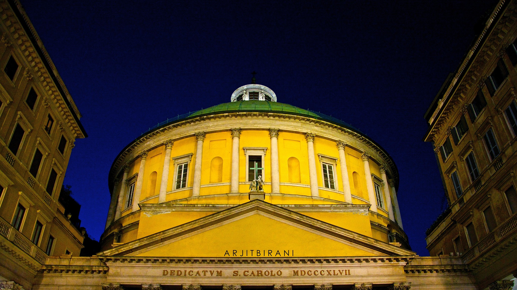 Yellow Milano by Arjit Birani