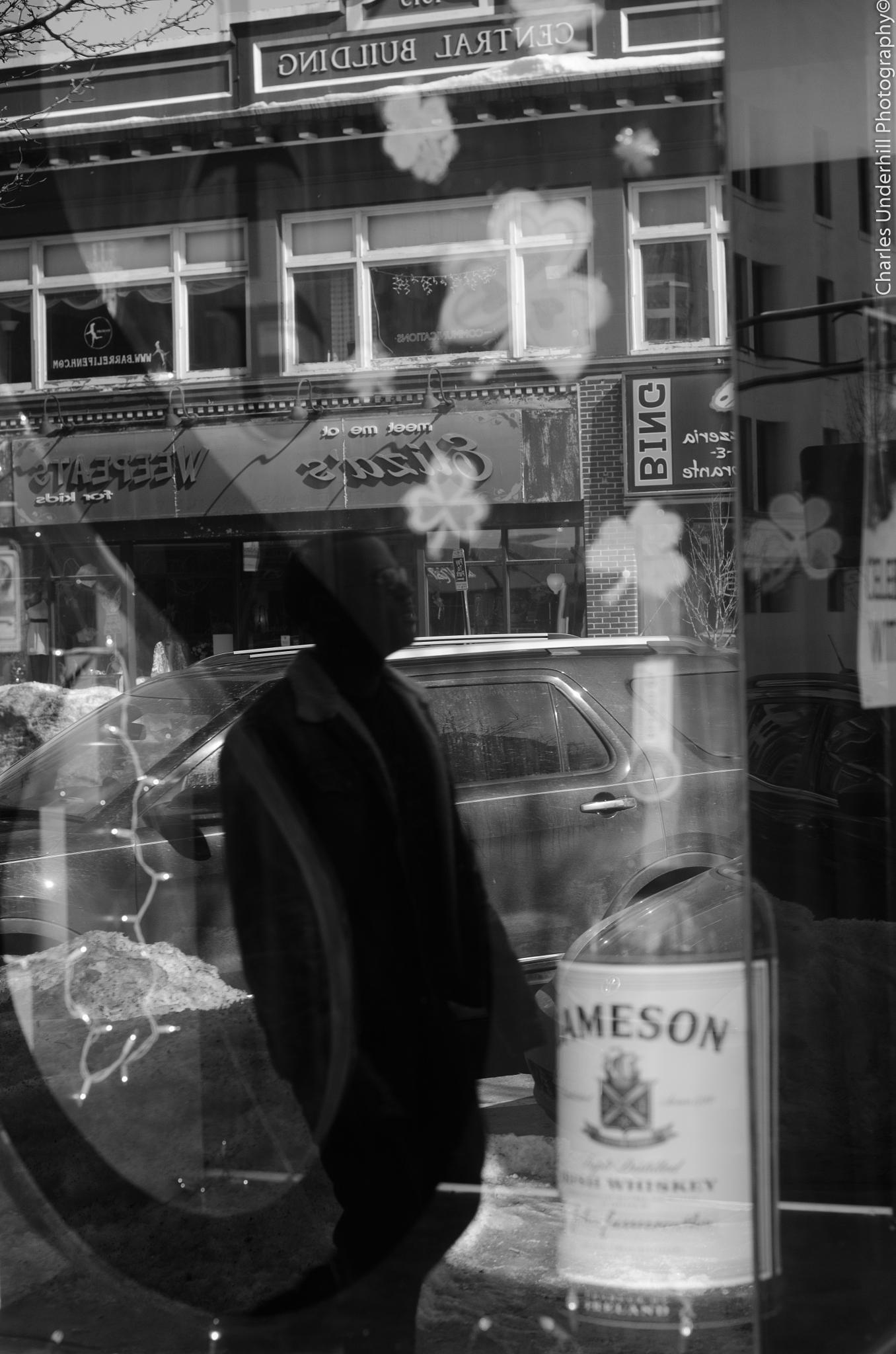 Reflaction in Irish -  Street Series by caffeineandcameras