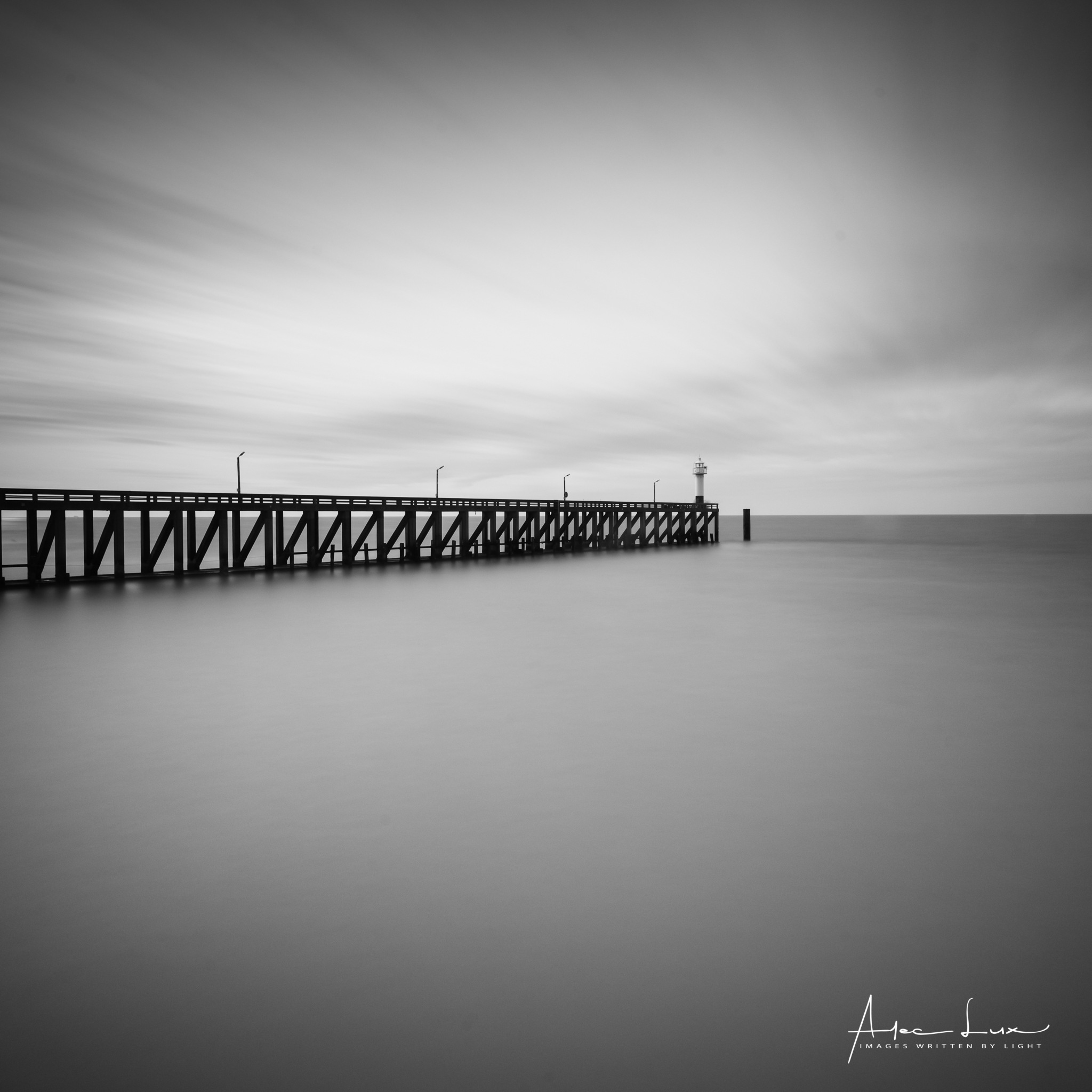 Pier To Pier I by Alec Lux
