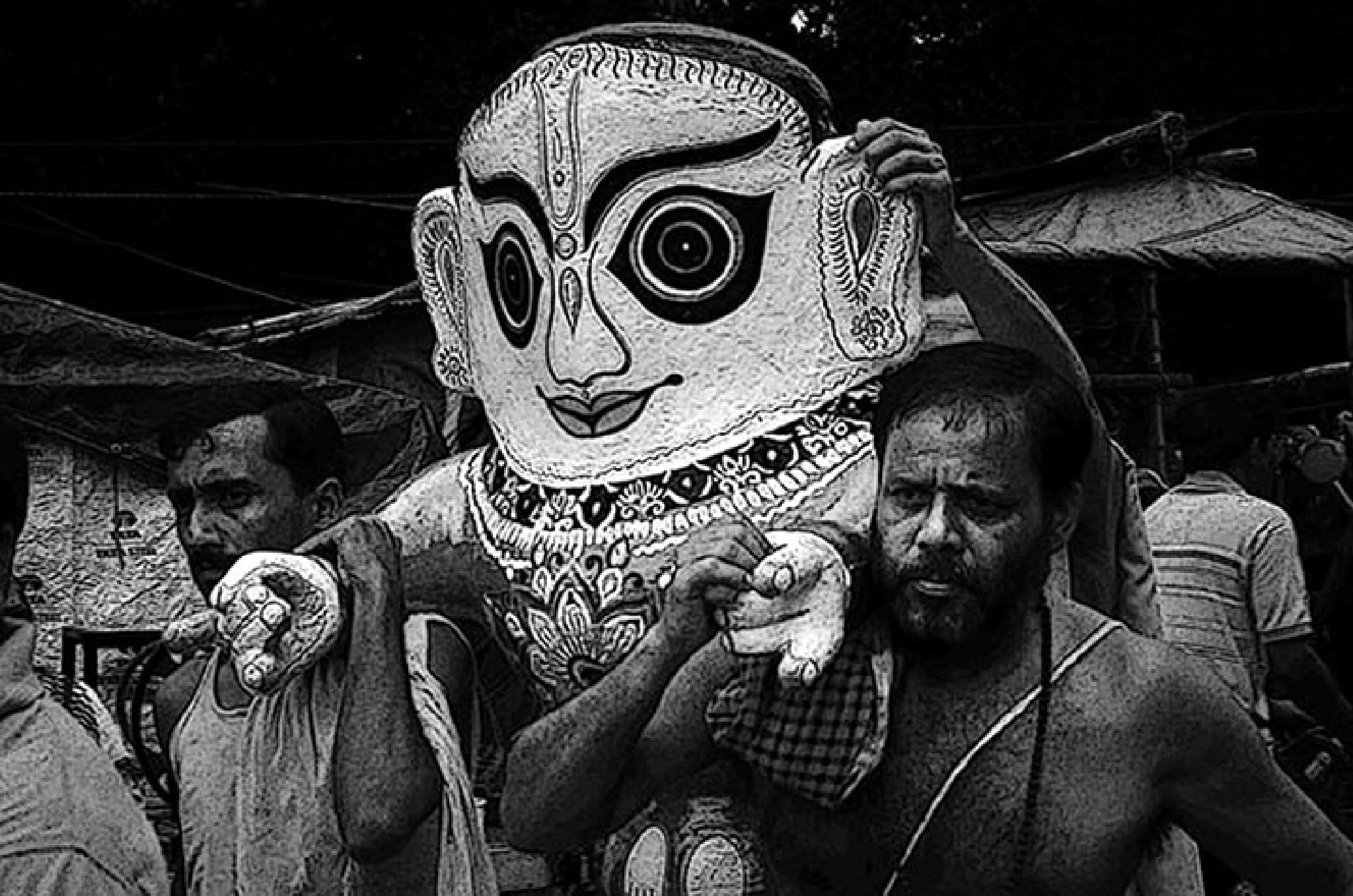 Lord Jagannath by Narayan Pramanik