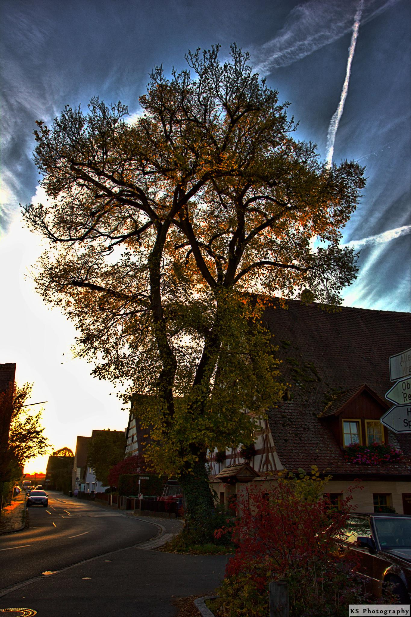 Old Franconian village by Klaus Schenker