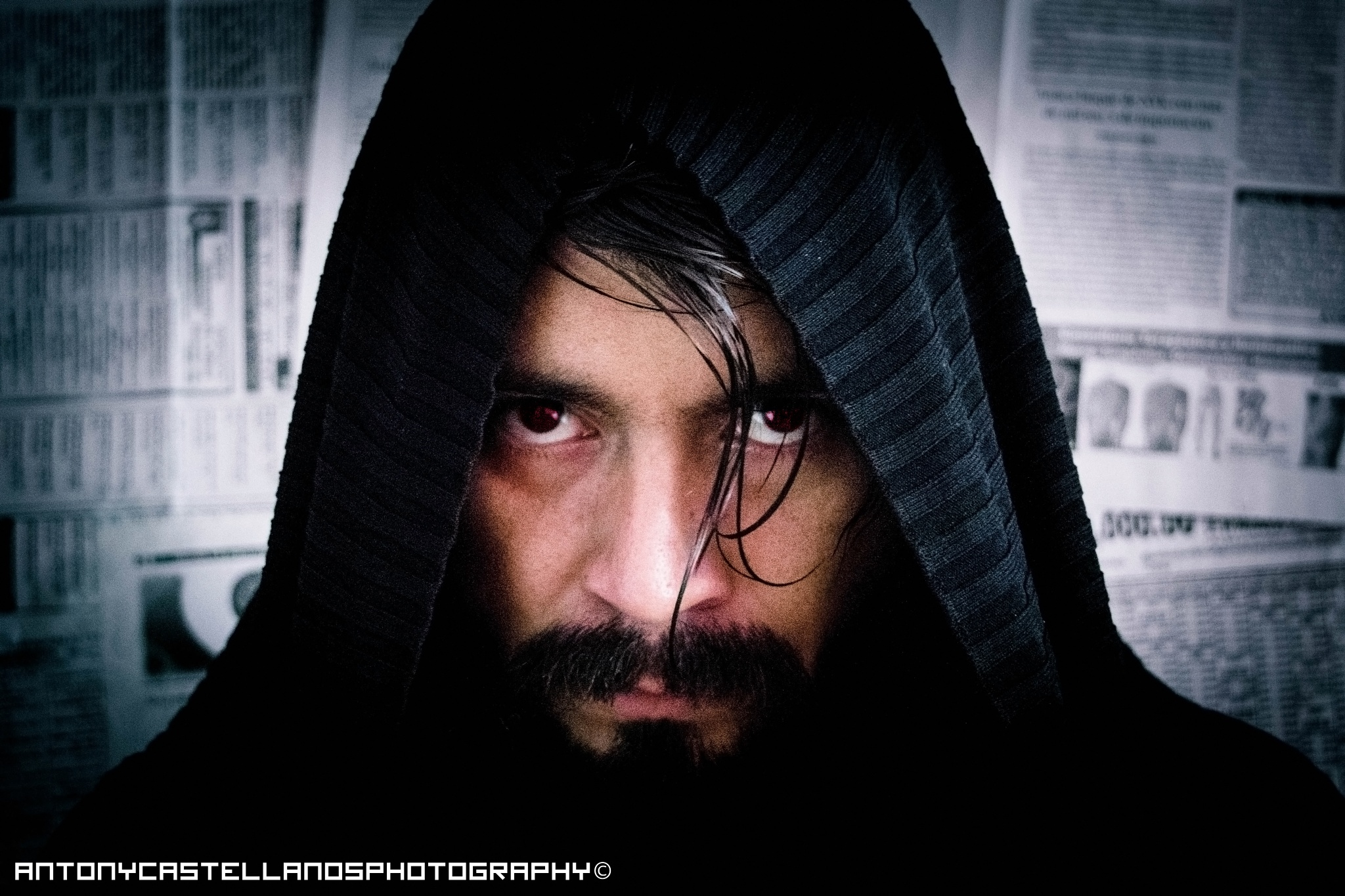 Seduced by the dark side by Antony Castellanos