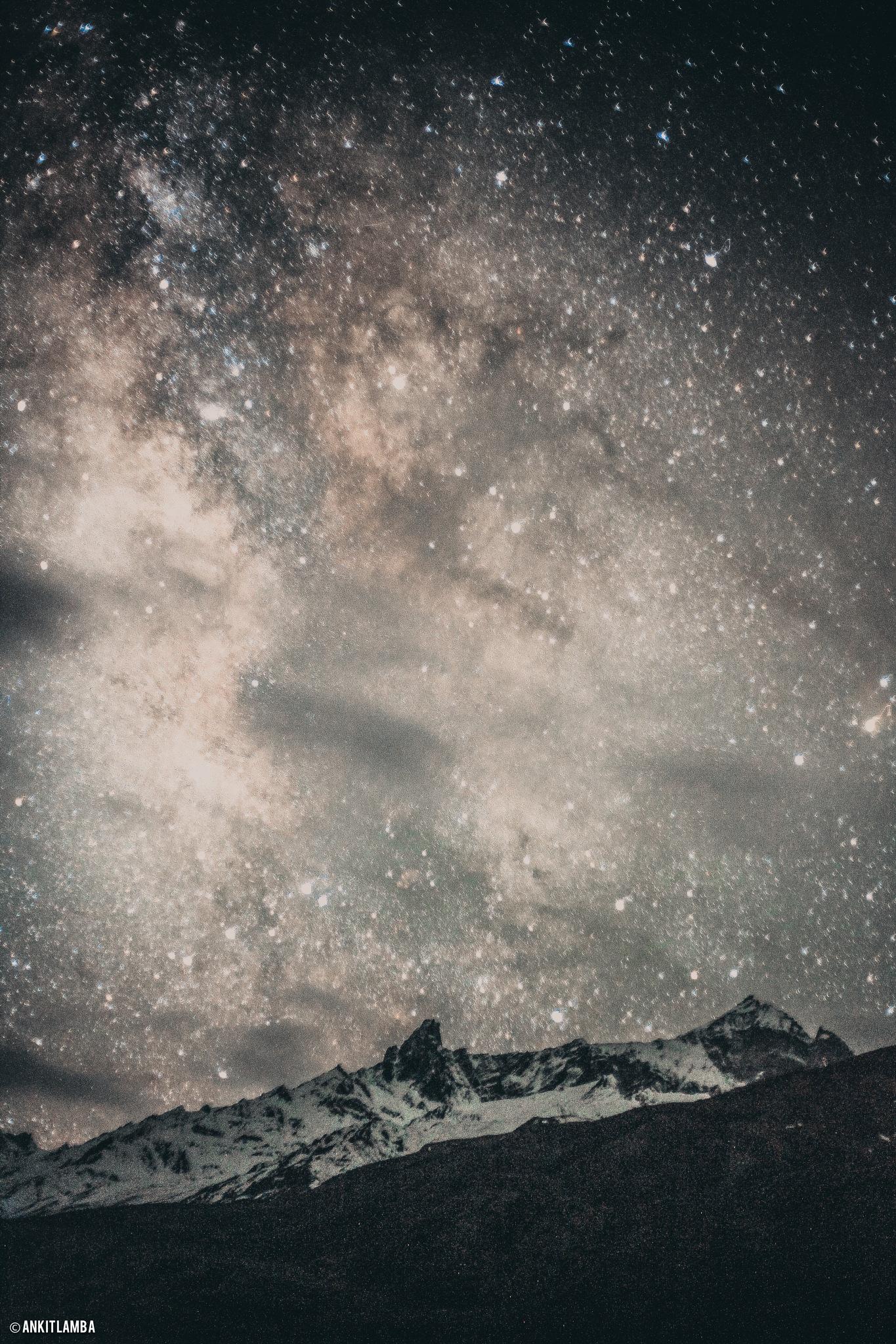 The Milkyway by Ankit Lamba