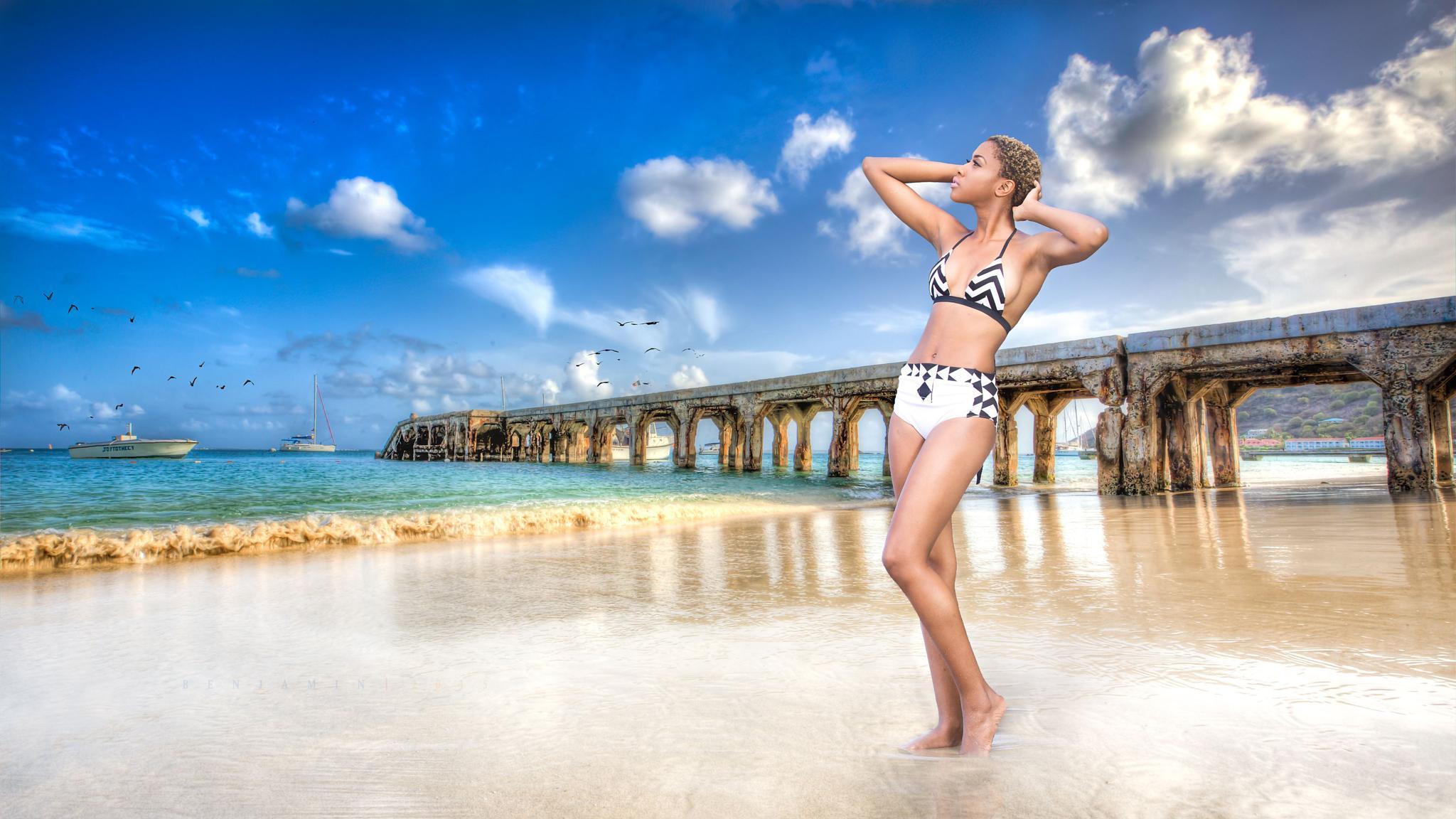 Beach Beauty  by RicardoBenjamin