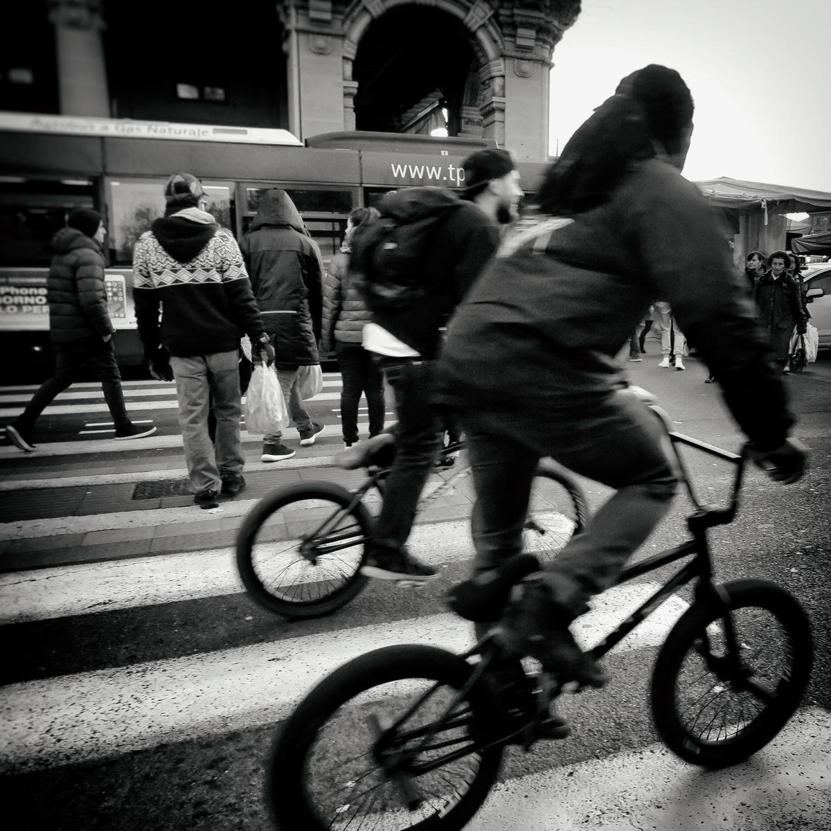 #BIKE2BMX 1 #Bologna IMG_8153 quad bike2 bn_resizeA by Viabici© Stefano Mascarucci (Renzi)
