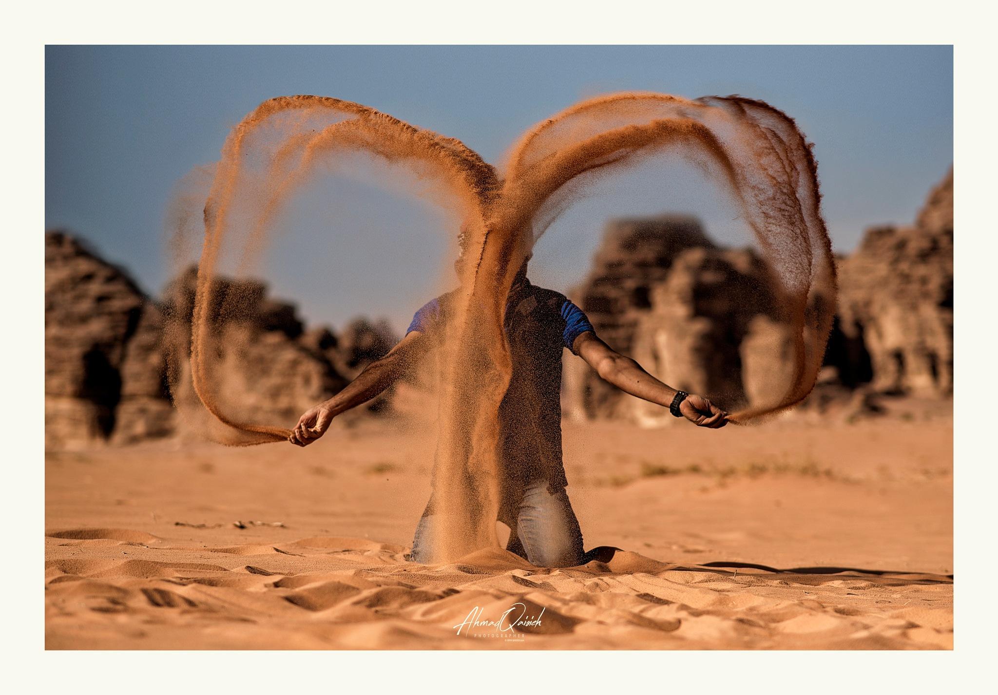 Wadi Rum Desert  by Ahmad Qaisieh