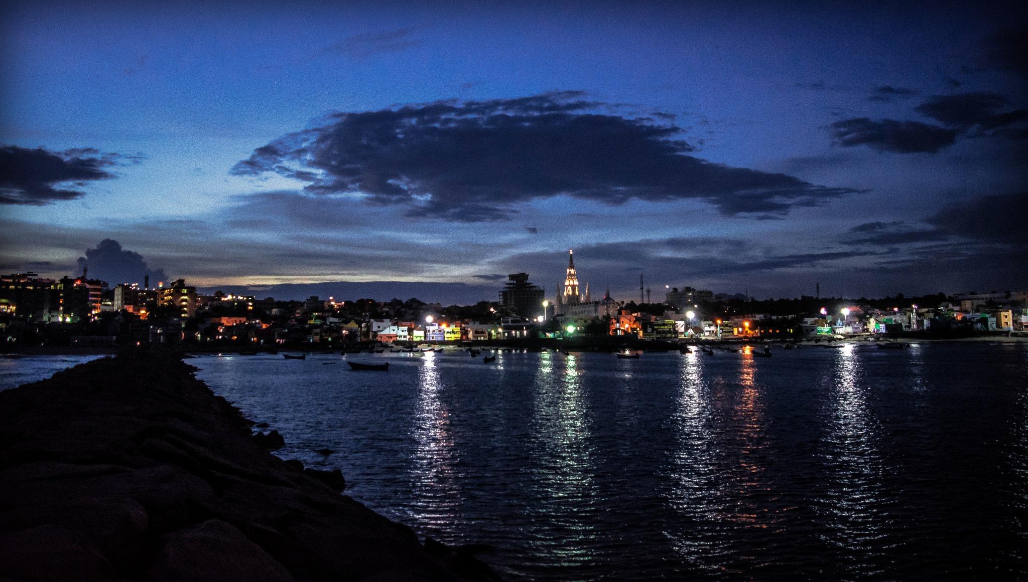 Evening @ Kanyakumari by Nayrrit Das