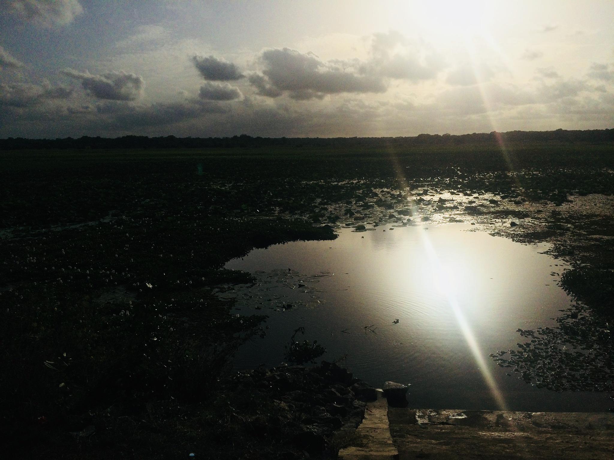 tissa wewa lake  by Ruzaik11
