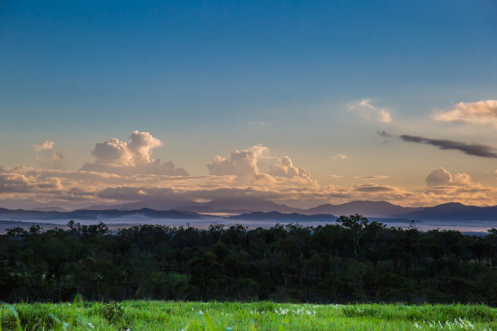 Morning Clouds Over Mareeba by Ian Anning