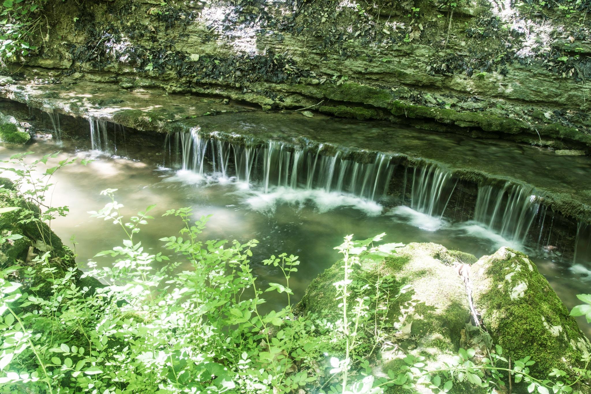 Fairmount Falls by Chuck Deel-Angie Deel